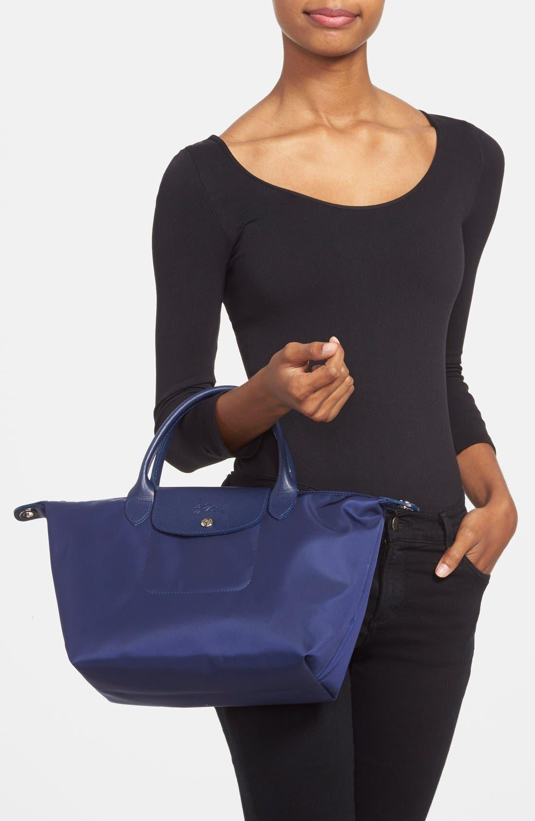 Alternate Image 2  - Longchamp 'Small Le Pliage Neo' Nylon Tote