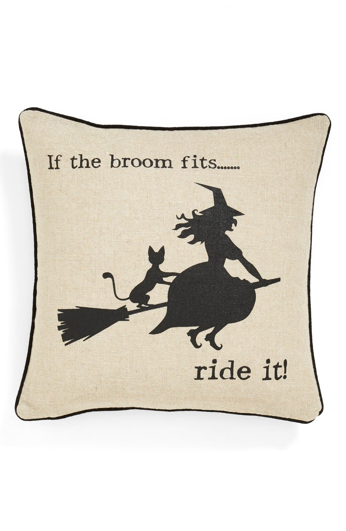 Alternate Image 1 Selected - Levtex 'Witty Witch' Accent Pillow