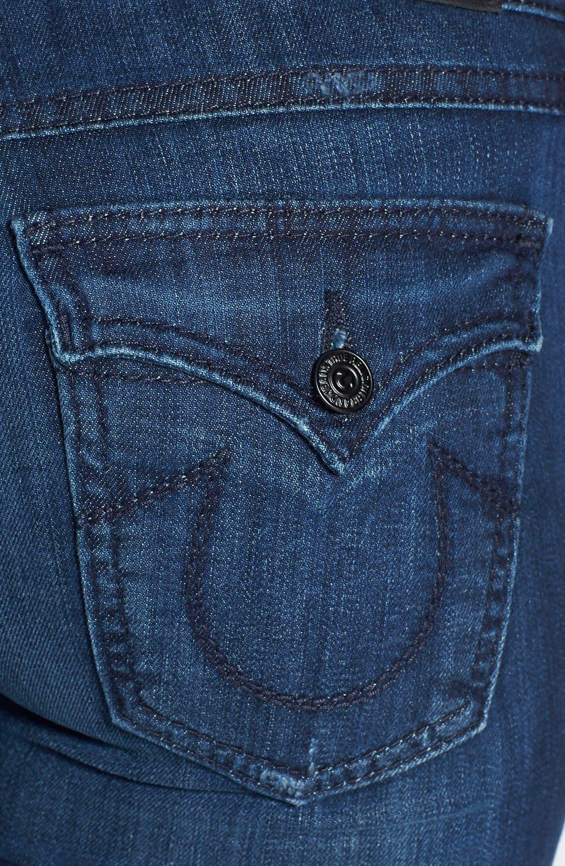 Alternate Image 3  - True Religion Brand Jeans 'Becca' Bootcut Jeans (Faithful Message)