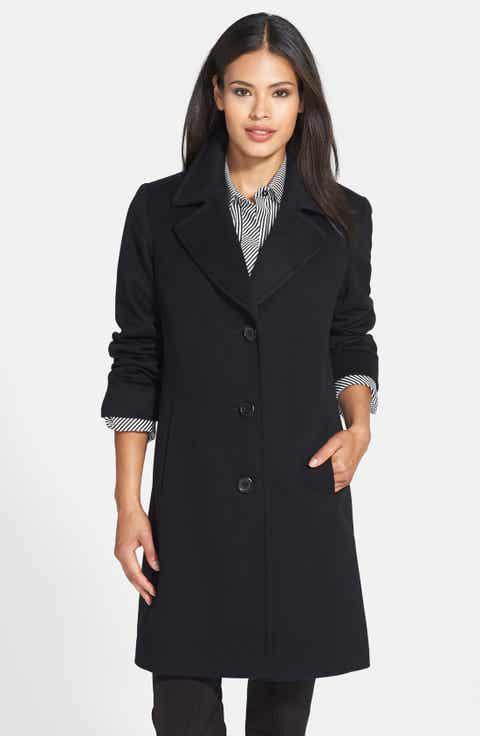 Women's Black Wool Coats | Nordstrom | Nordstrom