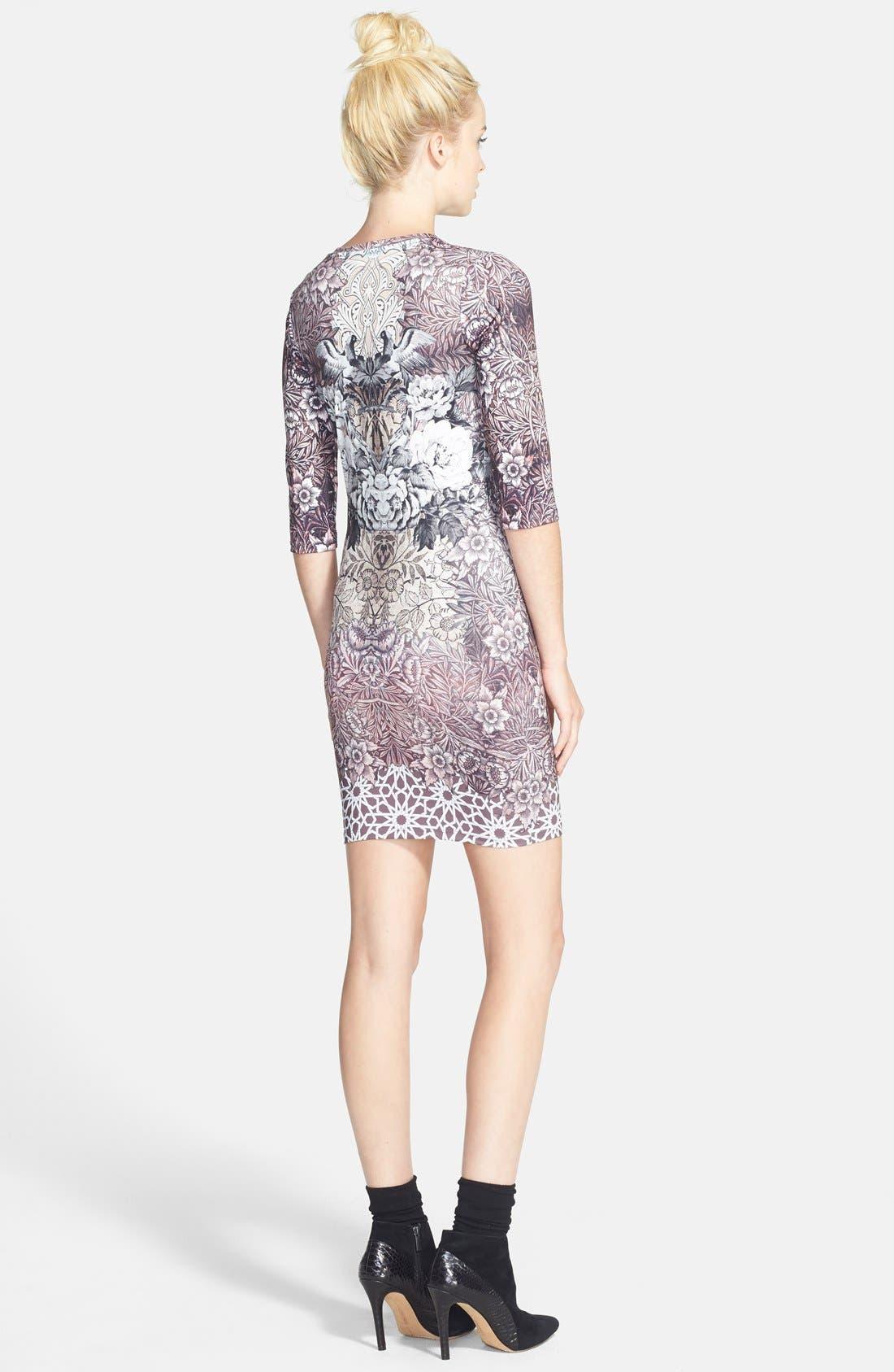 Alternate Image 2  - Topshop Print Body-Con Minidress (Nordstrom Exclusive)