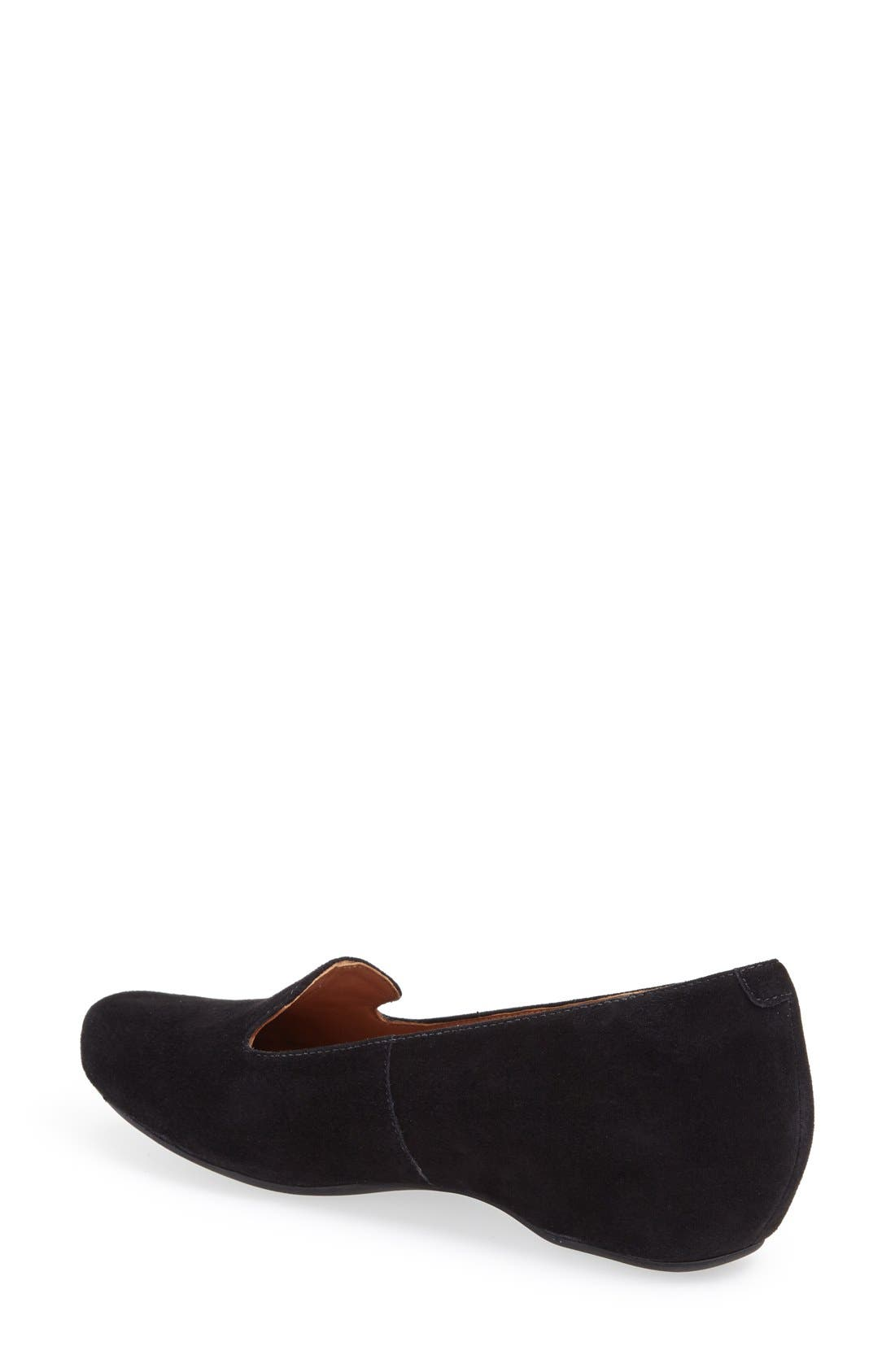Alternate Image 2  - Clarks® 'Concert Jazz' Suede Flat (Women)
