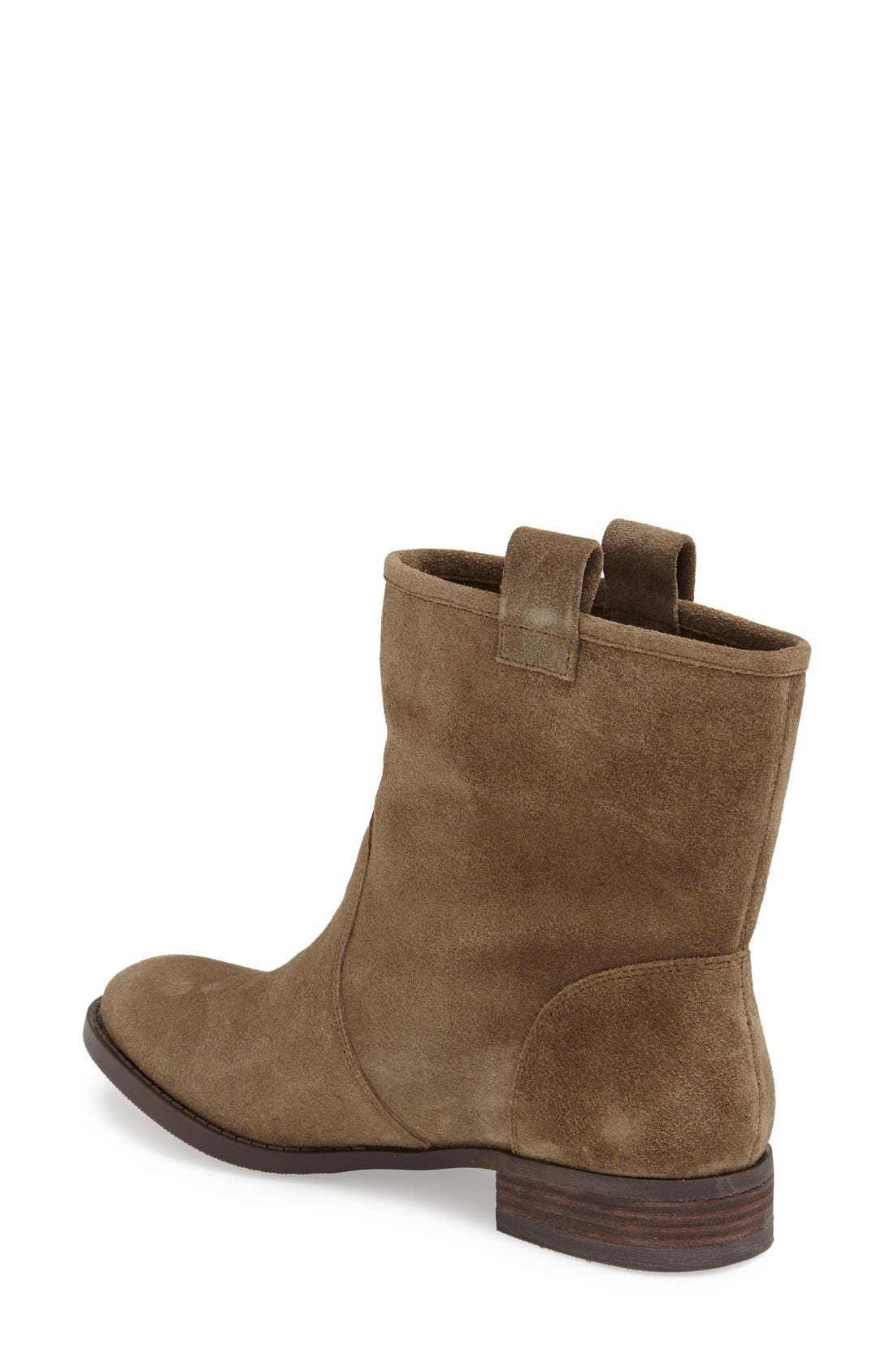'Natasha' Boot,                             Alternate thumbnail 2, color,                             Army Suede