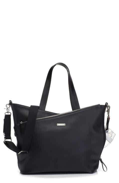b8fa563a478b Storksak  Lucinda  Diaper Bag Leather Tote