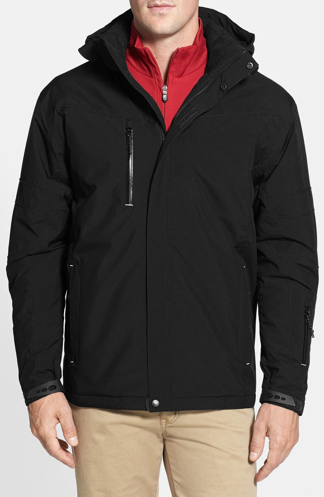 WeatherTec Sanders Jacket,                         Main,                         color, Black
