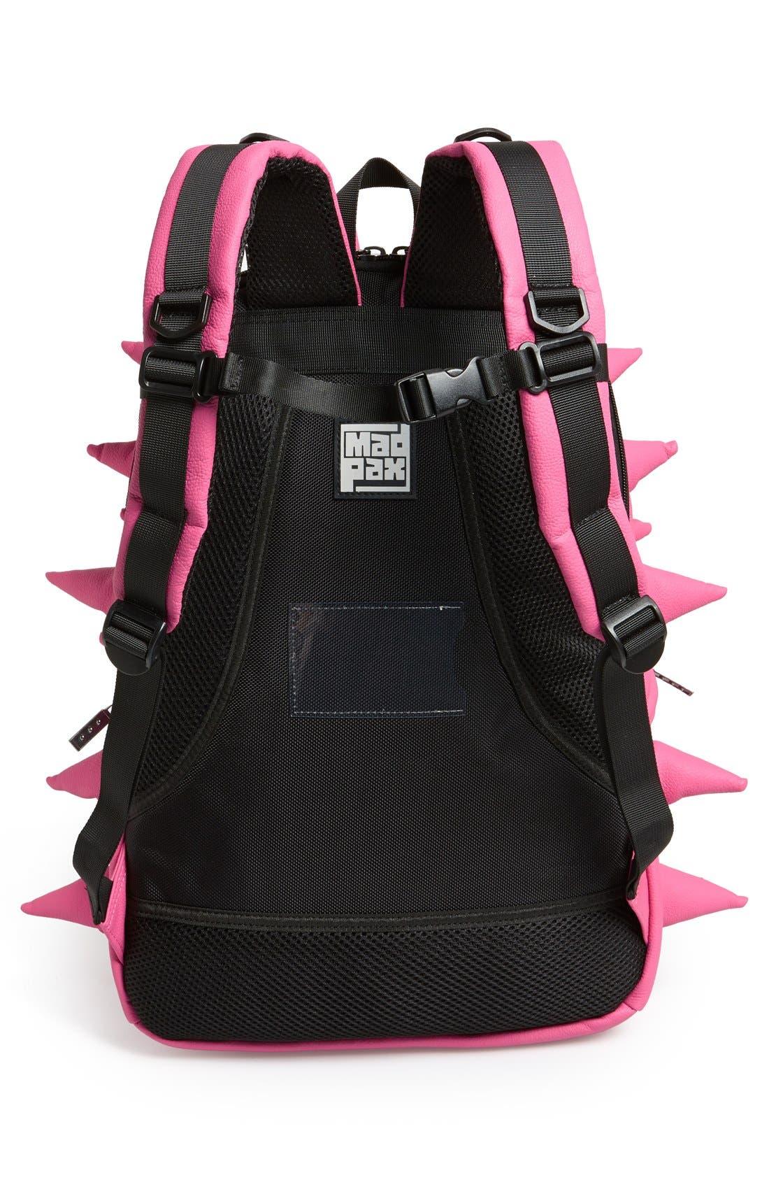 Alternate Image 4  - MadPax 'Spiketus Rex - Pink-A-Dot' Backpack (Girls)