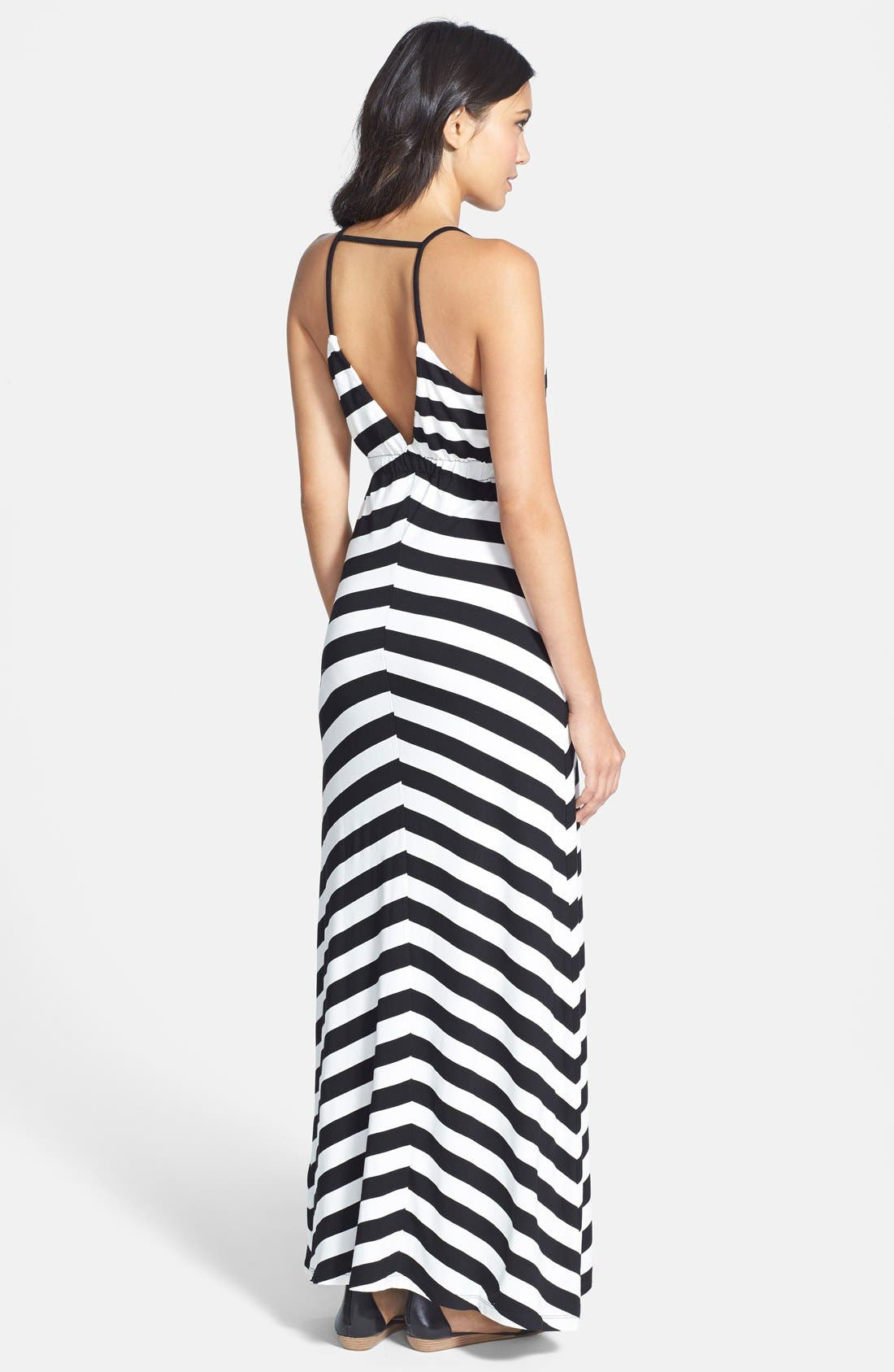 Alternate Image 2  - Bardot Stripe Maxi Dress (Nordstrom Exclusive)