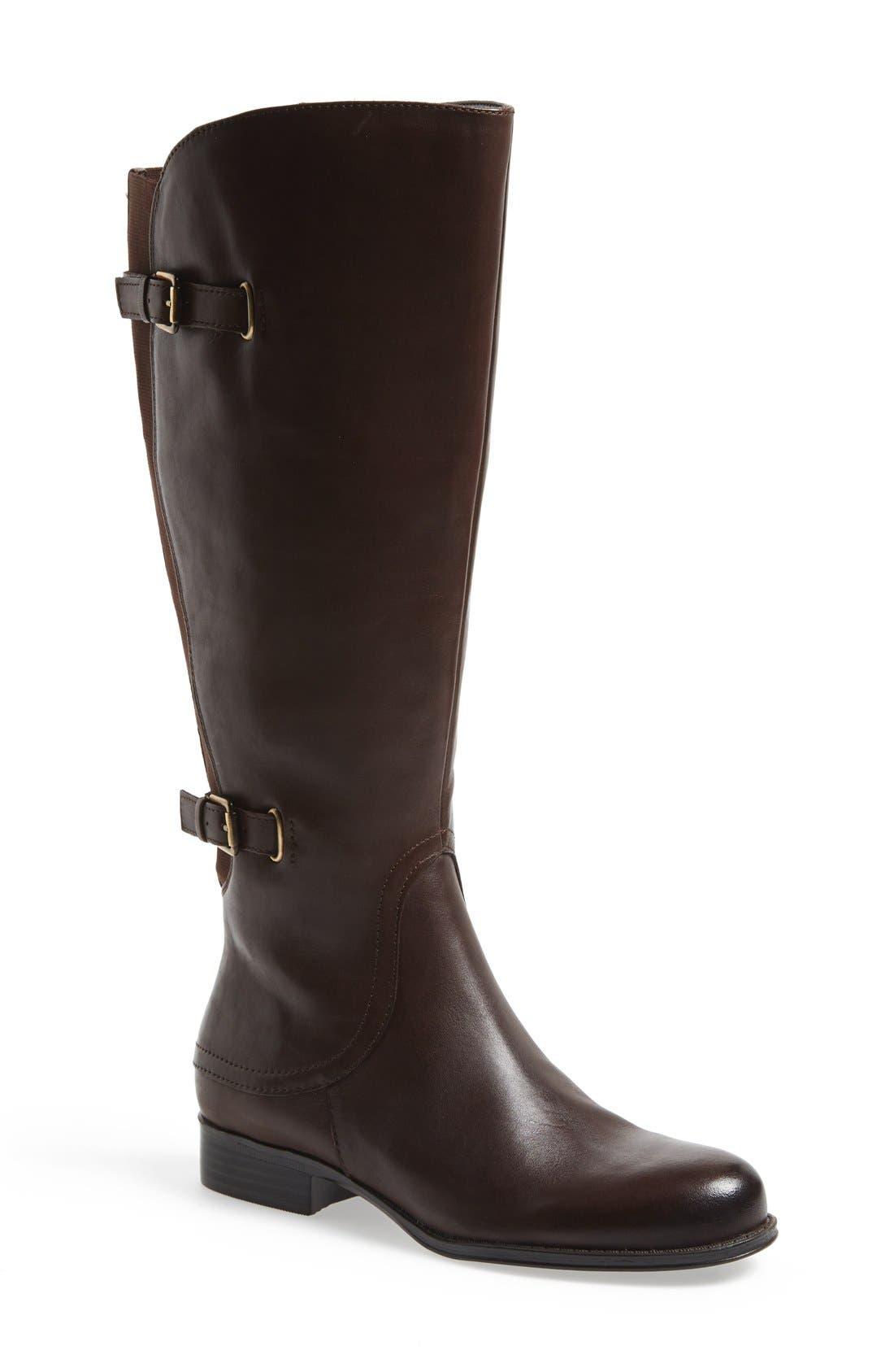 Alternate Image 1 Selected - Naturalizer 'Jamison' Tall Boot (Wide Calf) (Women)