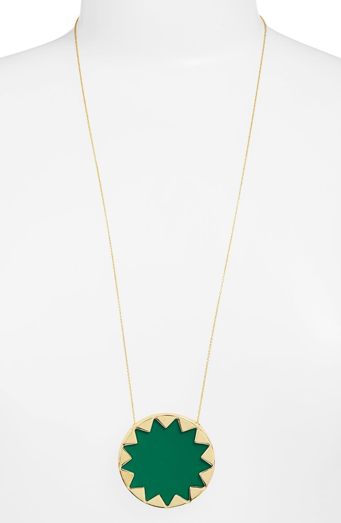 Main Image - House of Harlow 1960 Sunburst Pendant Necklace