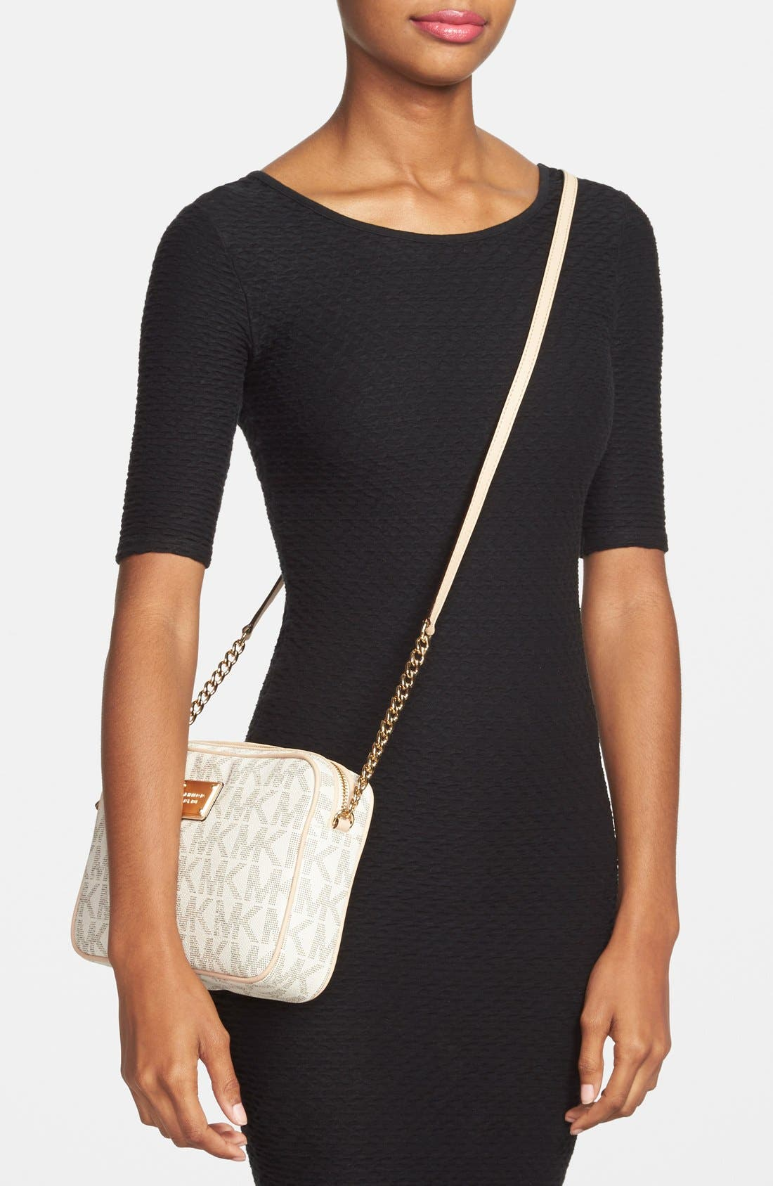 Alternate Image 2  - MICHAEL Michael Kors 'Jet Set Large' East/West Crossbody