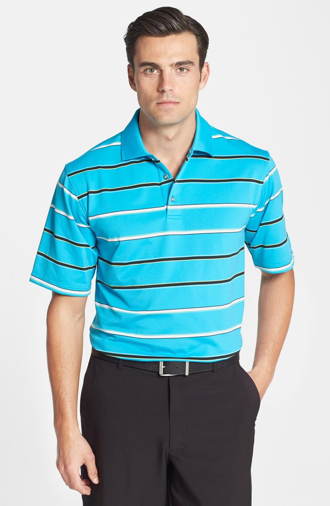 Alternate Image 1 Selected - SWC Stripe Performance Polo