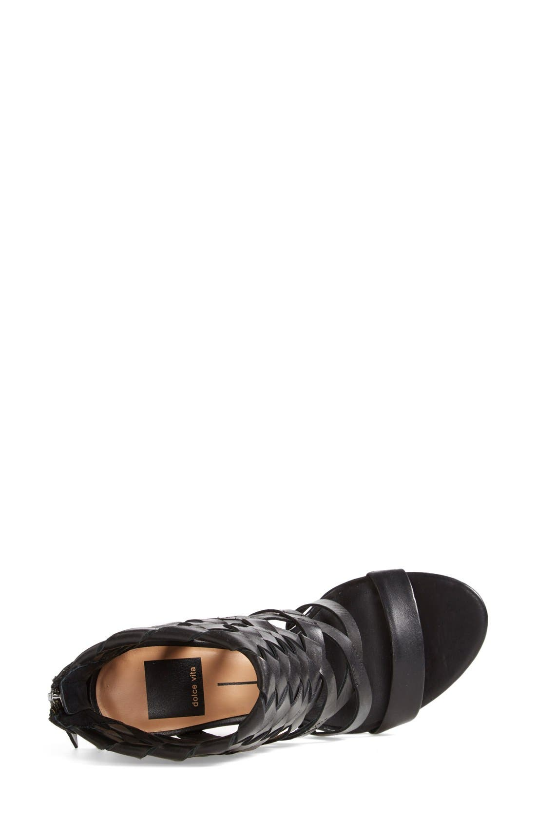 Alternate Image 3  - Dolce Vita 'Nakita' Woven Leather Sandal