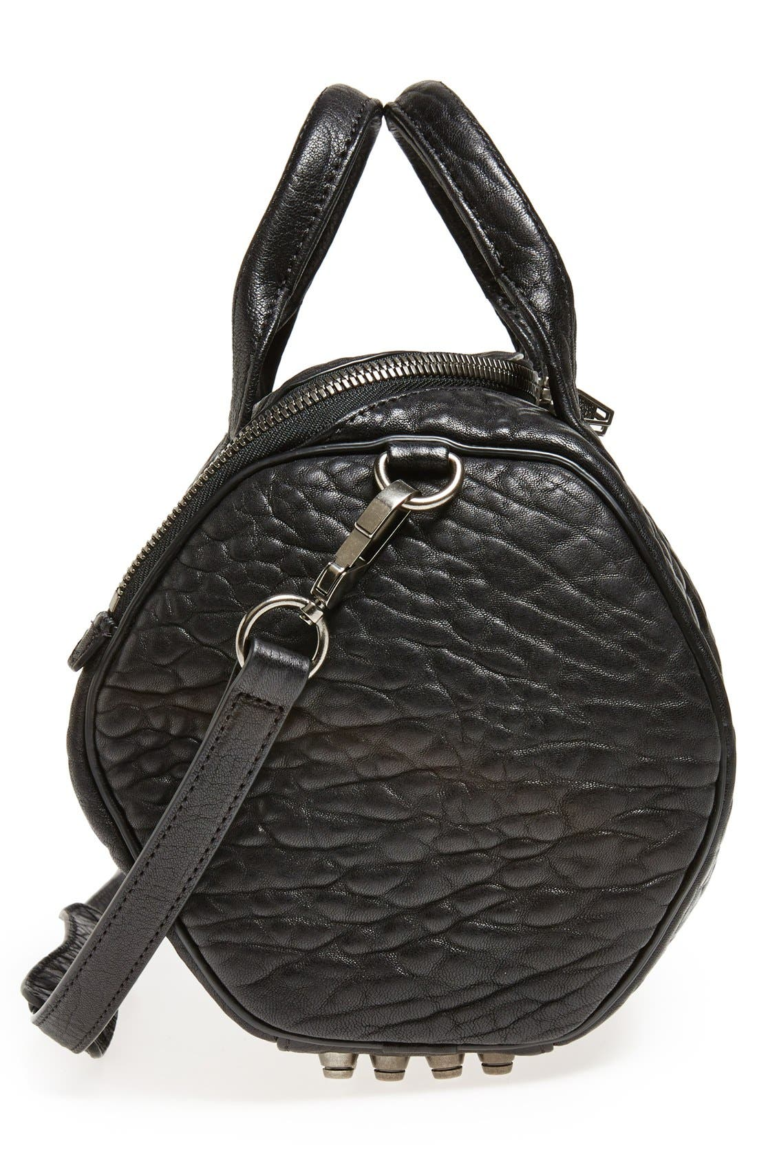 Alternate Image 5  - Alexander Wang 'Rockie - Black Nickel' Leather Crossbody Satchel