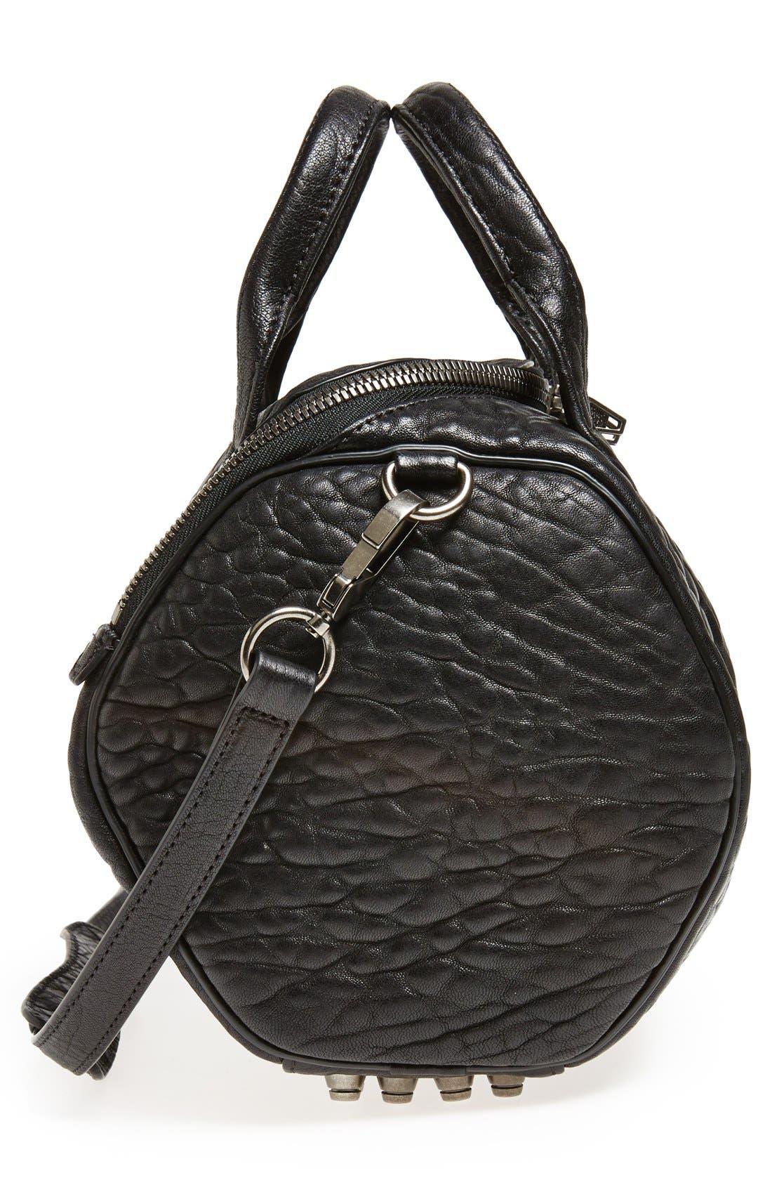 Alternate Image 5  - Alexander Wang 'Rockie - Black Nickel' Leather Crossbody Satchel