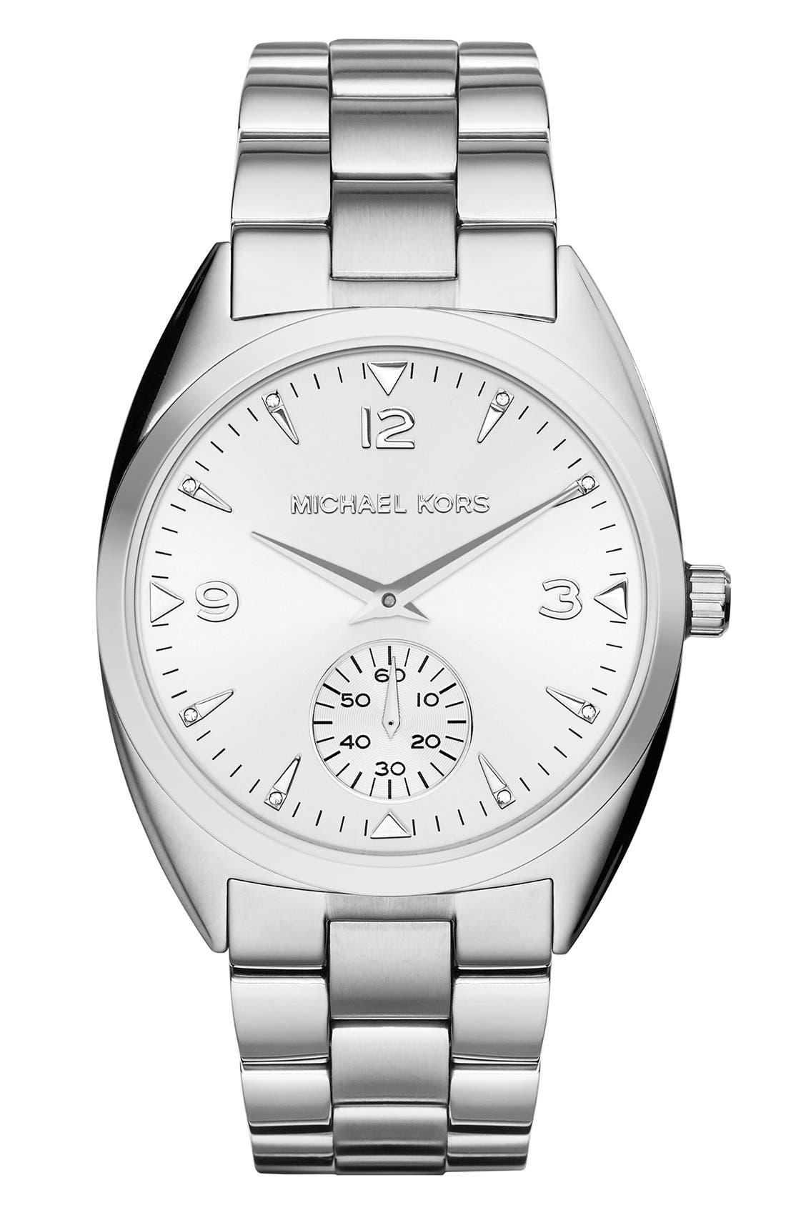 Alternate Image 1 Selected - Michael Kors 'Callie' Multifunction Bracelet Watch, 39mm