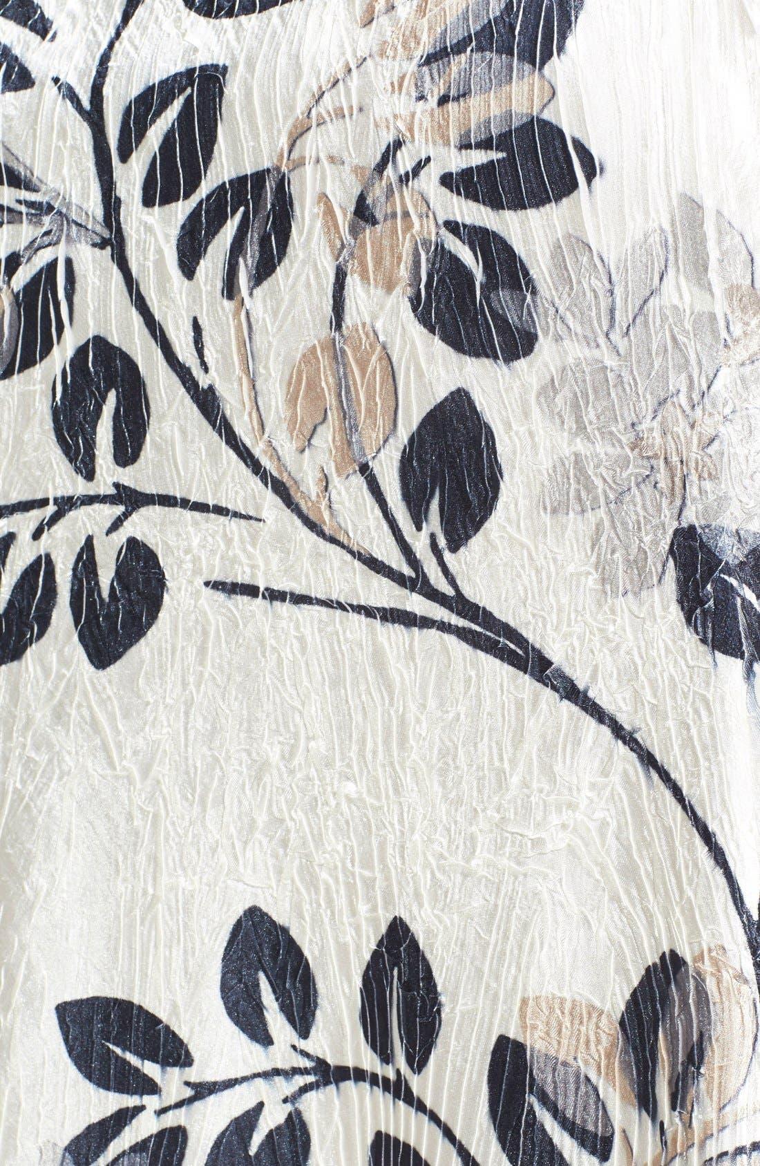 Alternate Image 3  - Komarov Pleated Dress (Plus Size)