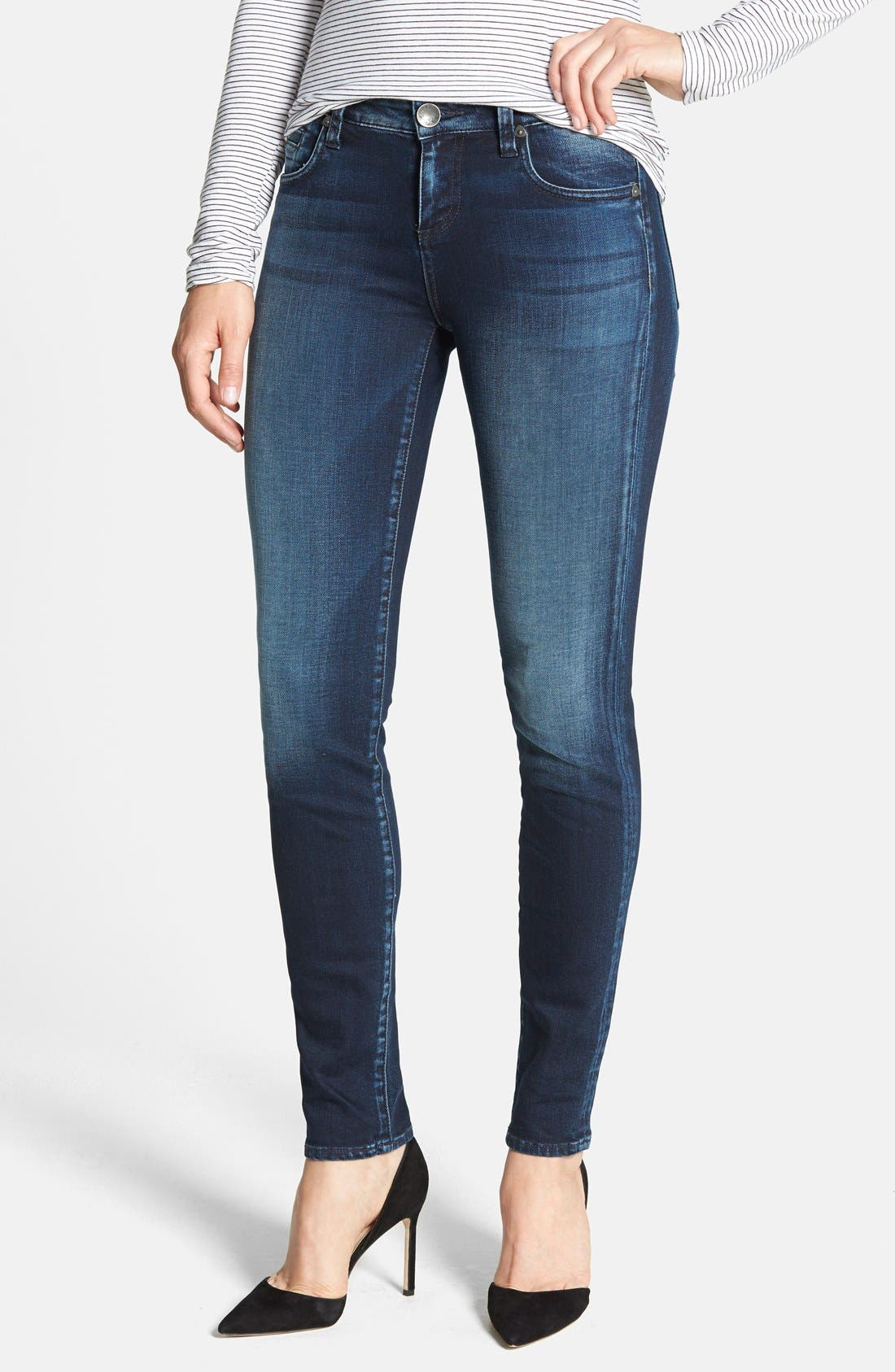 Alternate Image 1 Selected - KUT from the Kloth 'Diana' Skinny Jeans (Breezy)