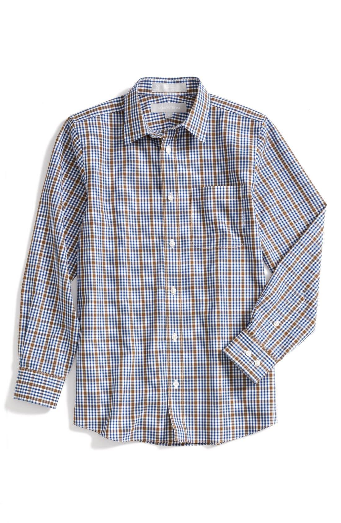 Alternate Image 1 Selected - Nordstrom Smartcare™ Dress Shirt (Little Boys & Big Boys)