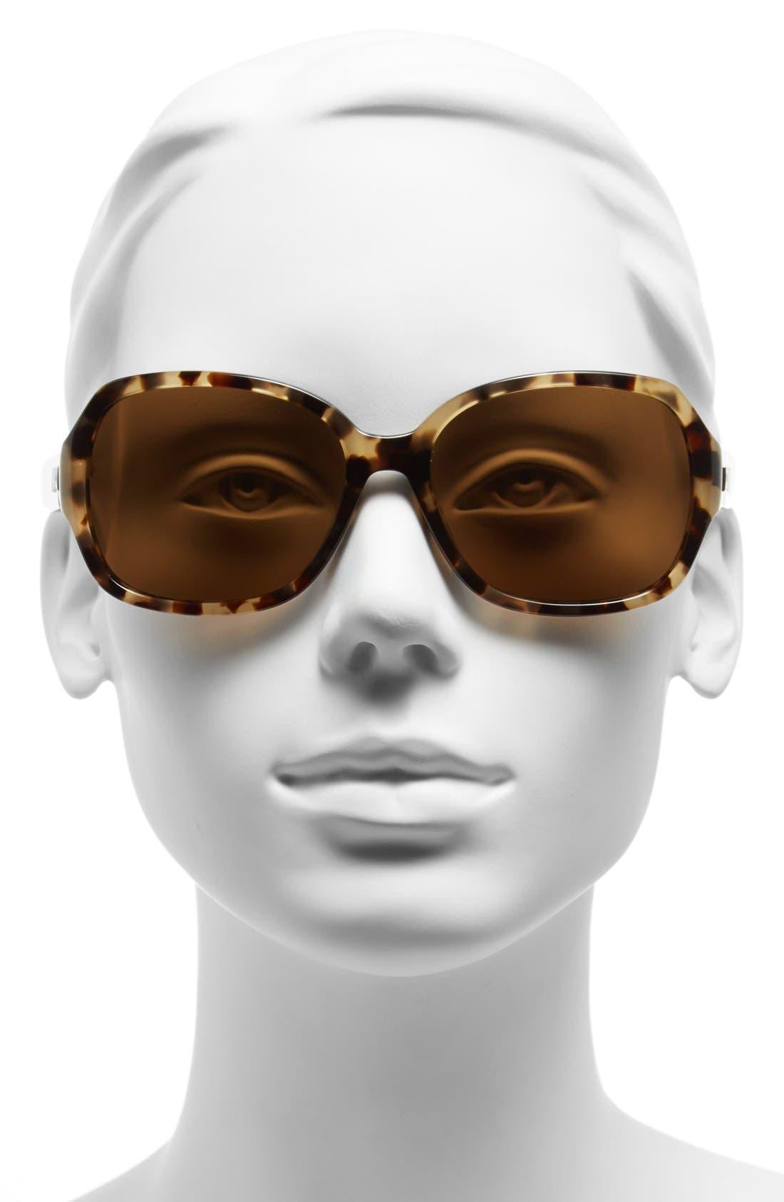 Alternate Image 2  - kate spade new york laney 57mm polarized sunglasses