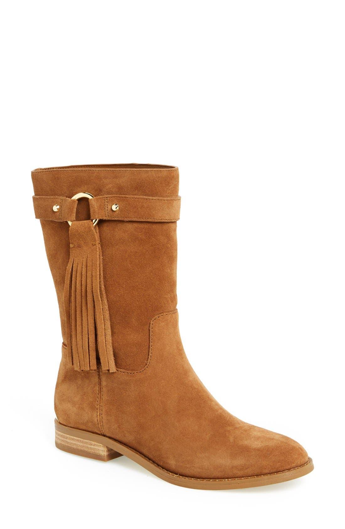 Alternate Image 1 Selected - MICHAEL Michael Kors 'Rhea' Suede Boot (Women)