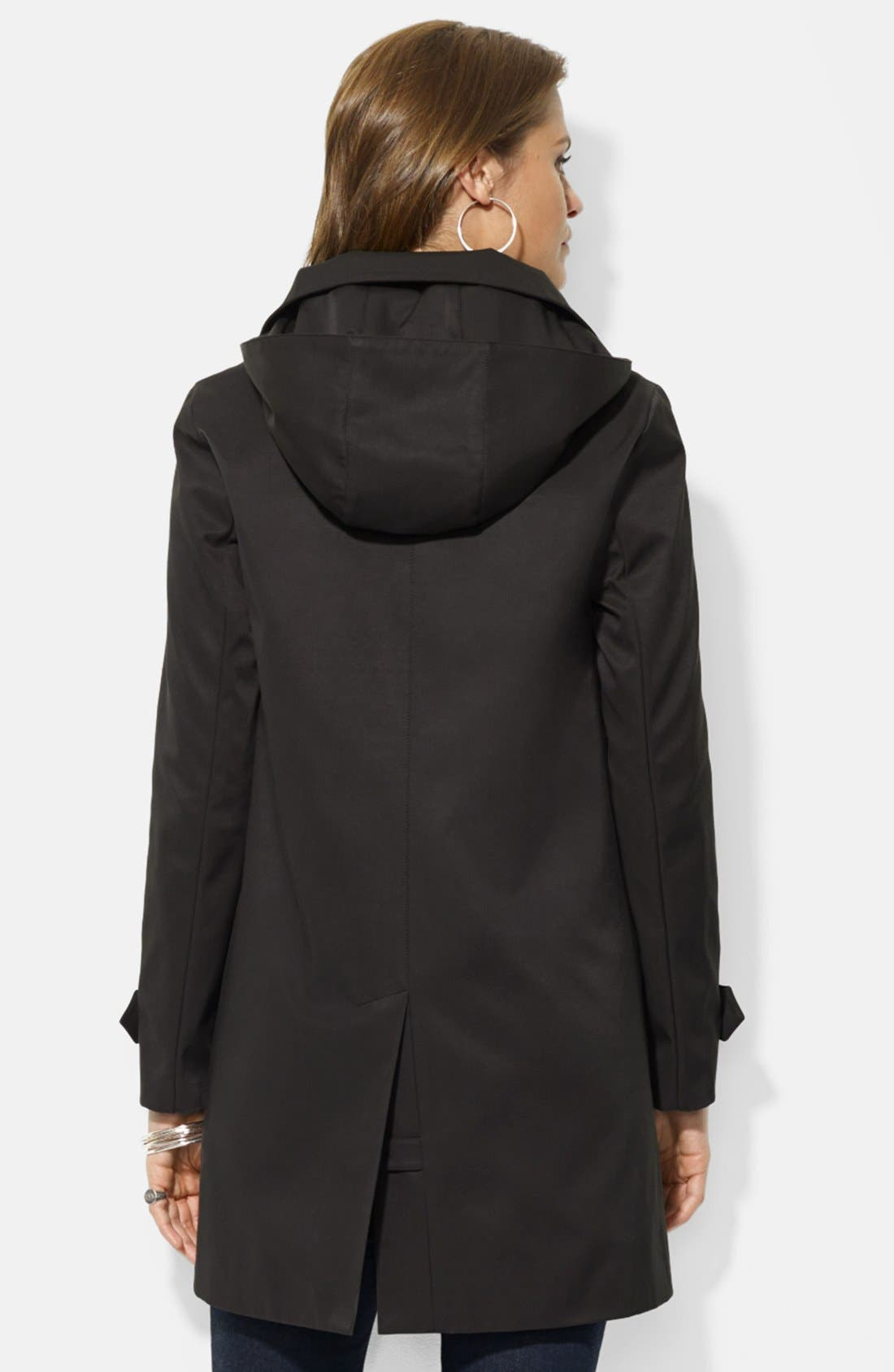 Alternate Image 2  - Lauren Ralph Lauren Rain Jacket with Detachable Hood & Liner (Nordstrom Exclusive)
