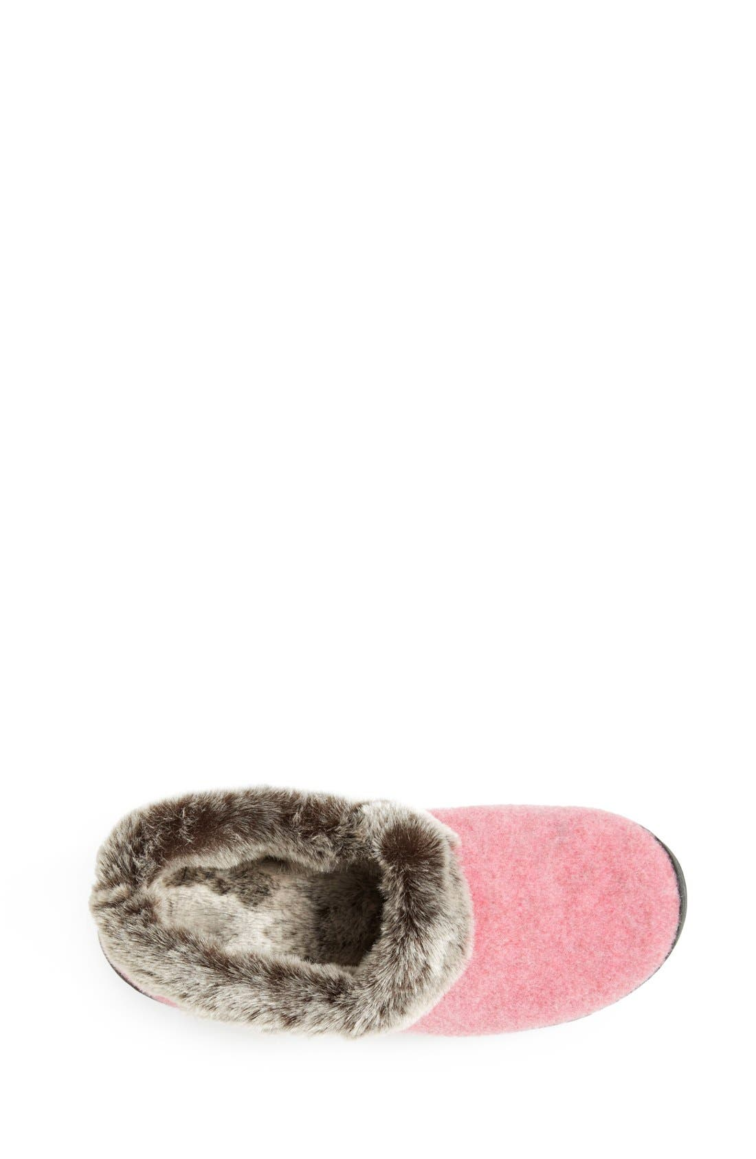 Alternate Image 3  - Acorn 'Chinchilla Collar' Faux Fur Slipper (Women)