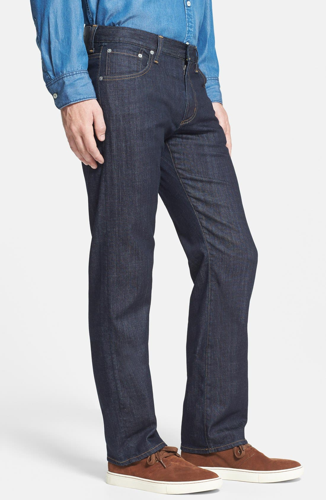 Sid Classic Straight Leg Jeans,                             Alternate thumbnail 3, color,                             Ultimate Wash