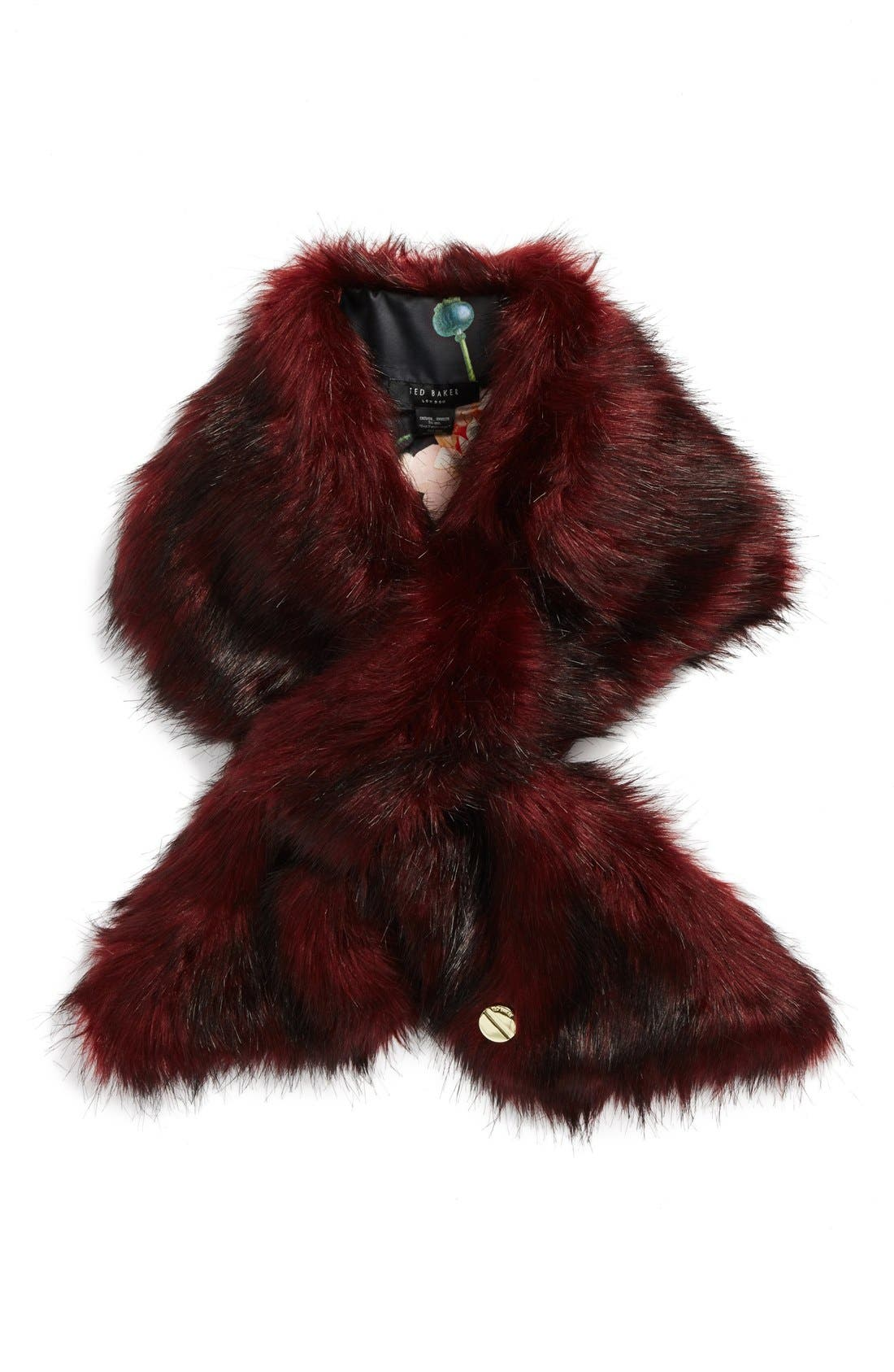 Alternate Image 1 Selected - Ted Baker London Faux Fur Scarf