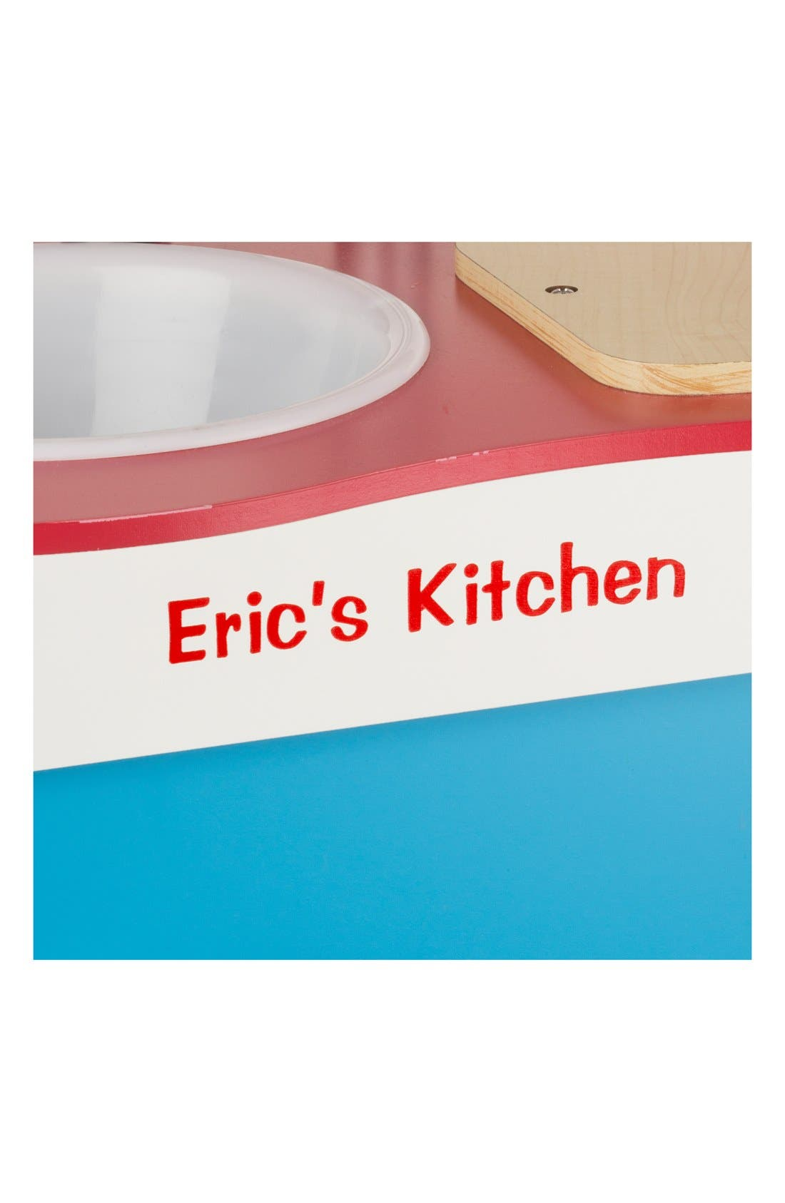 'Cook's Corner' Personalized Kitchen,                             Alternate thumbnail 2, color,                             Red