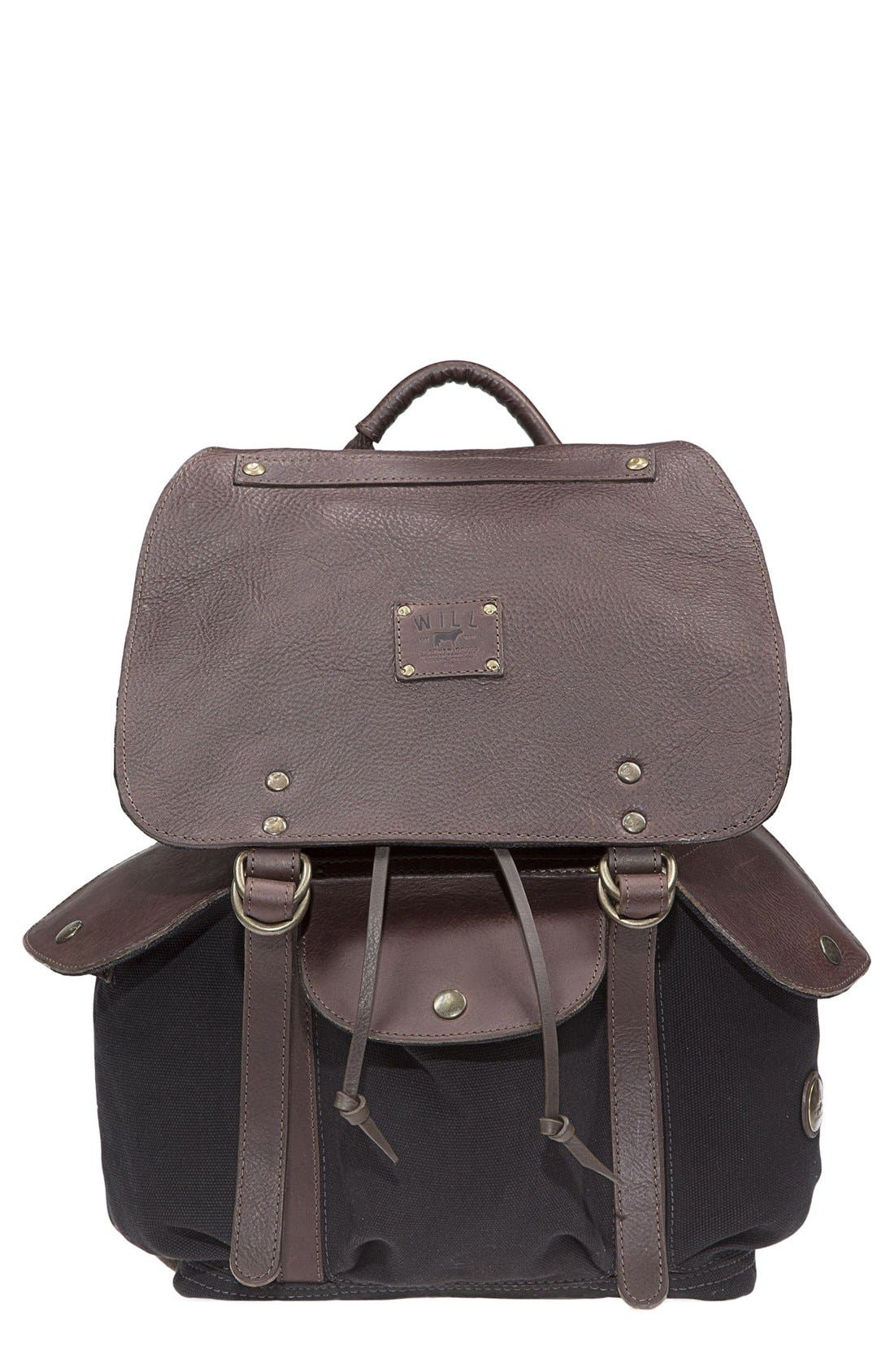 Alternate Image 1 Selected - Will Leather Goods 'Lennon' Backpack