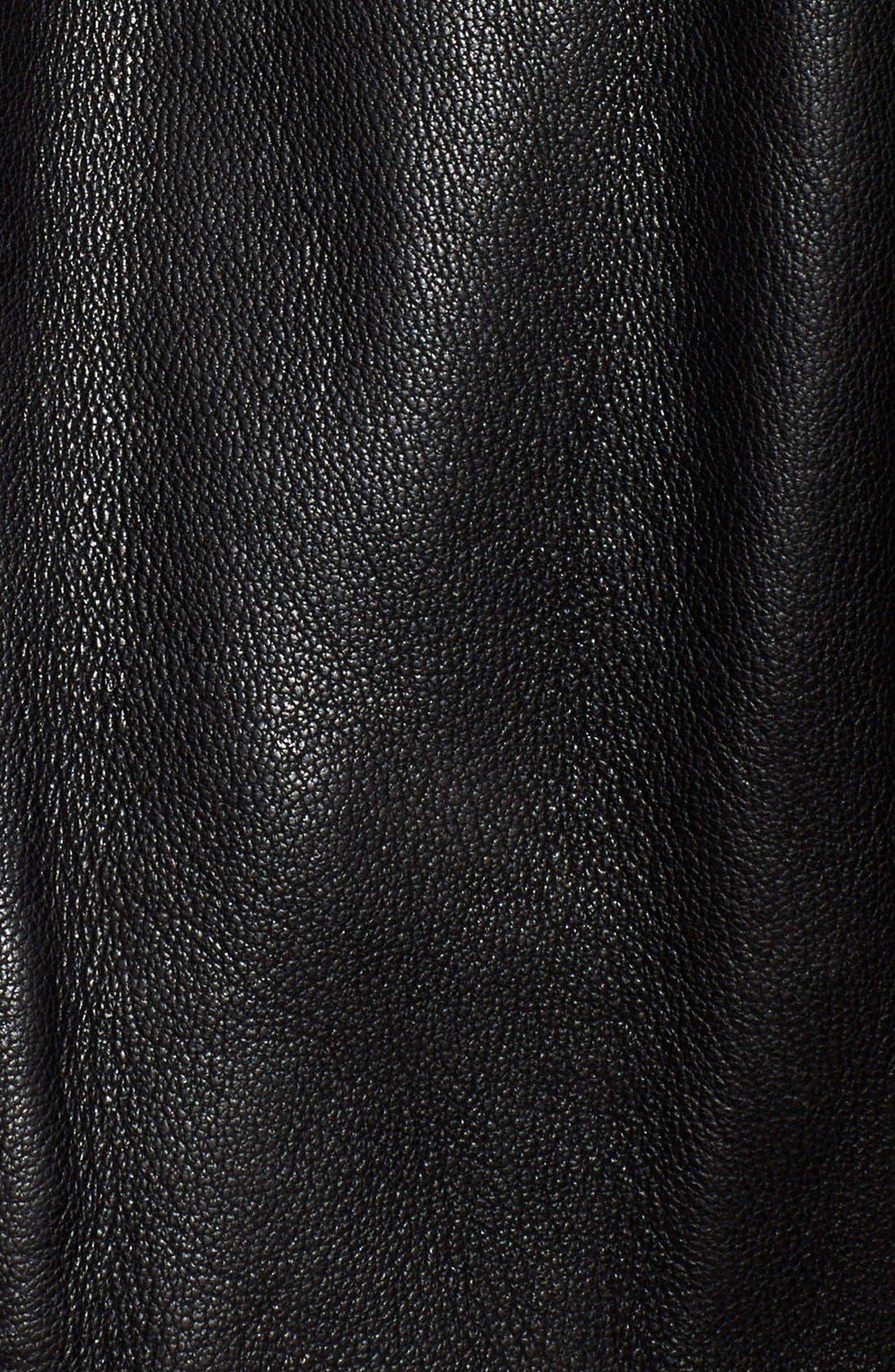 Alternate Image 3  - The Kooples Leather Moto Vest