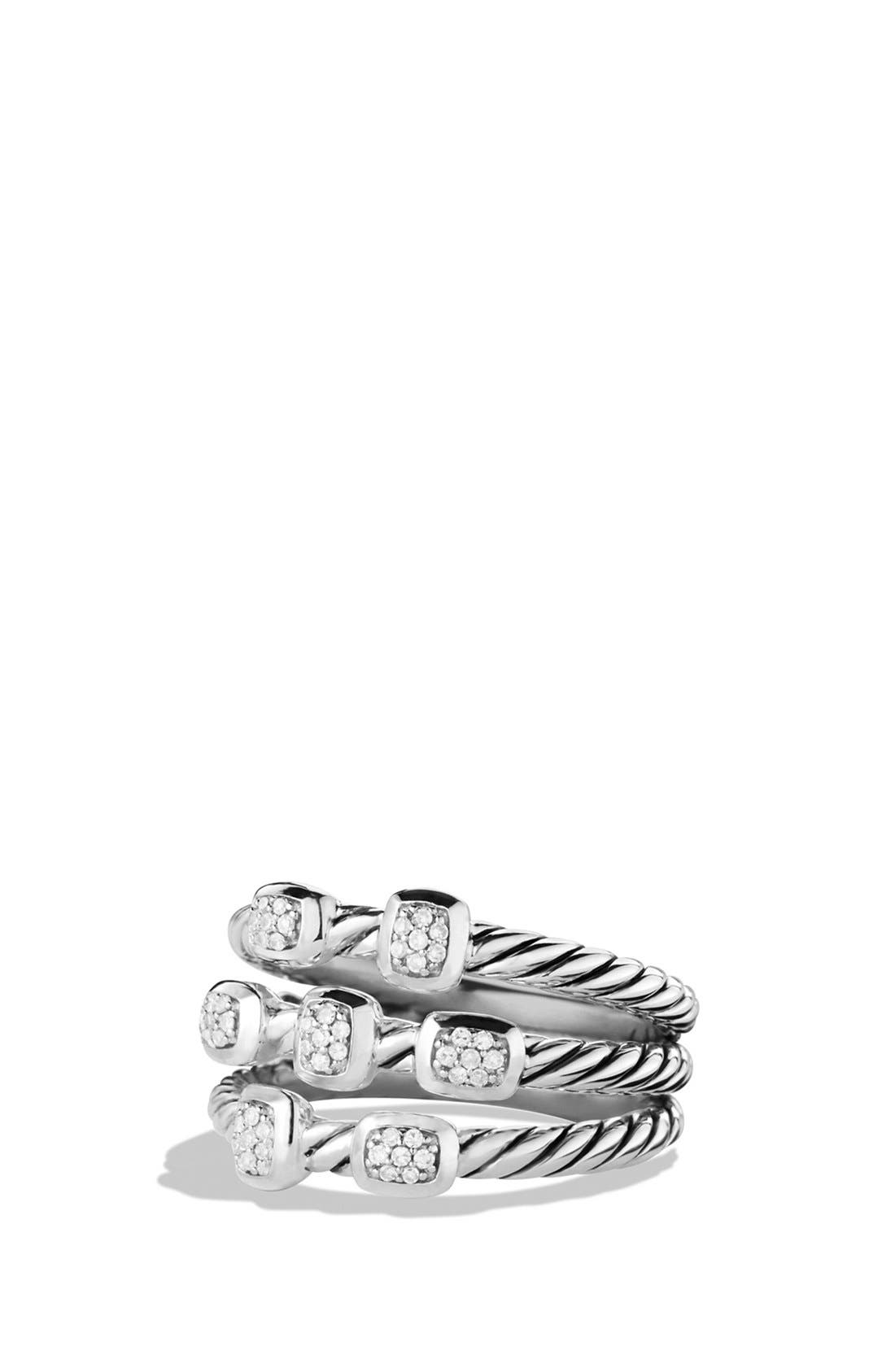 Alternate Image 1 Selected - David Yurman 'Confetti' Ring with Diamonds