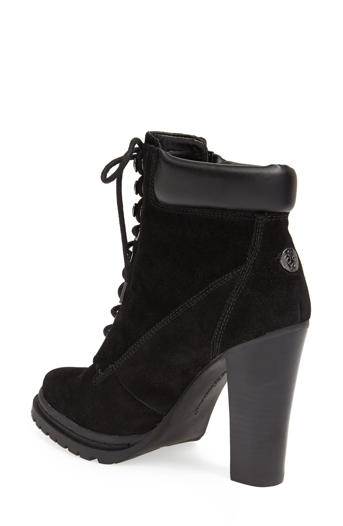 Alternate Image 2  - BCBGeneration 'Maude' Lace-Up Bootie (Women)