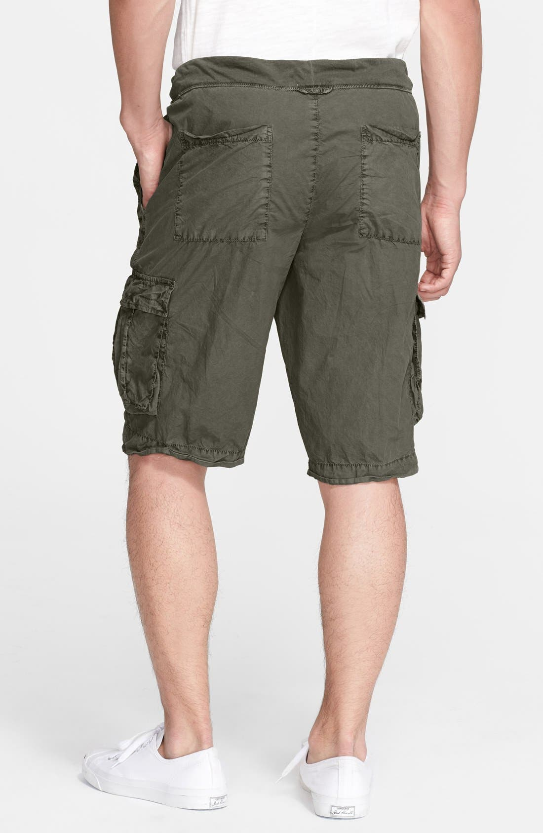 Alternate Image 2  - James Perse Drawstring Cargo Shorts
