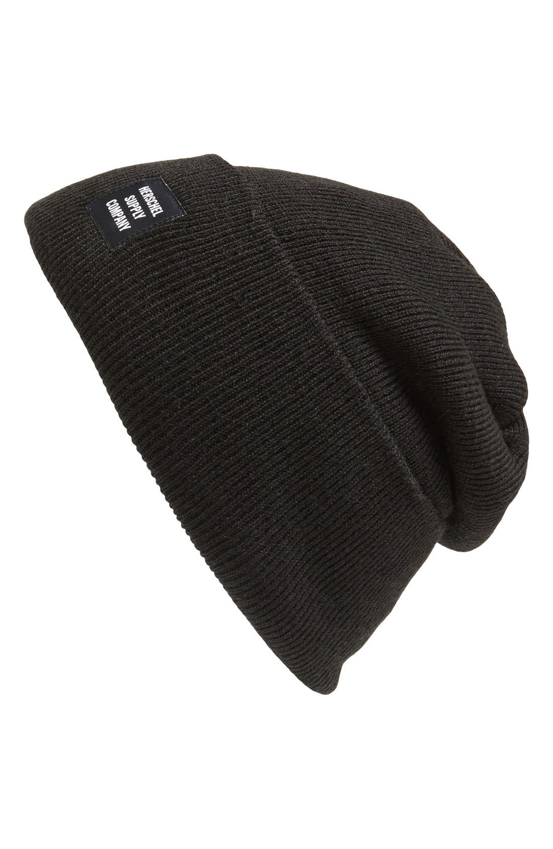 'Abbott' Knit Cap,                         Main,                         color, Black