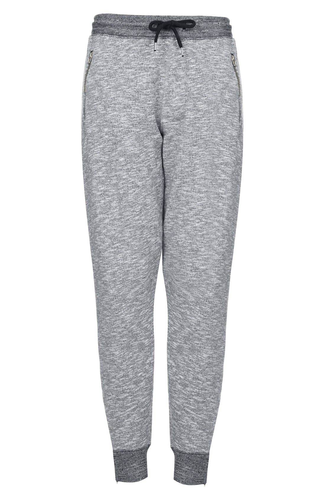Alternate Image 3  - Topshop Marled Jogger Pants