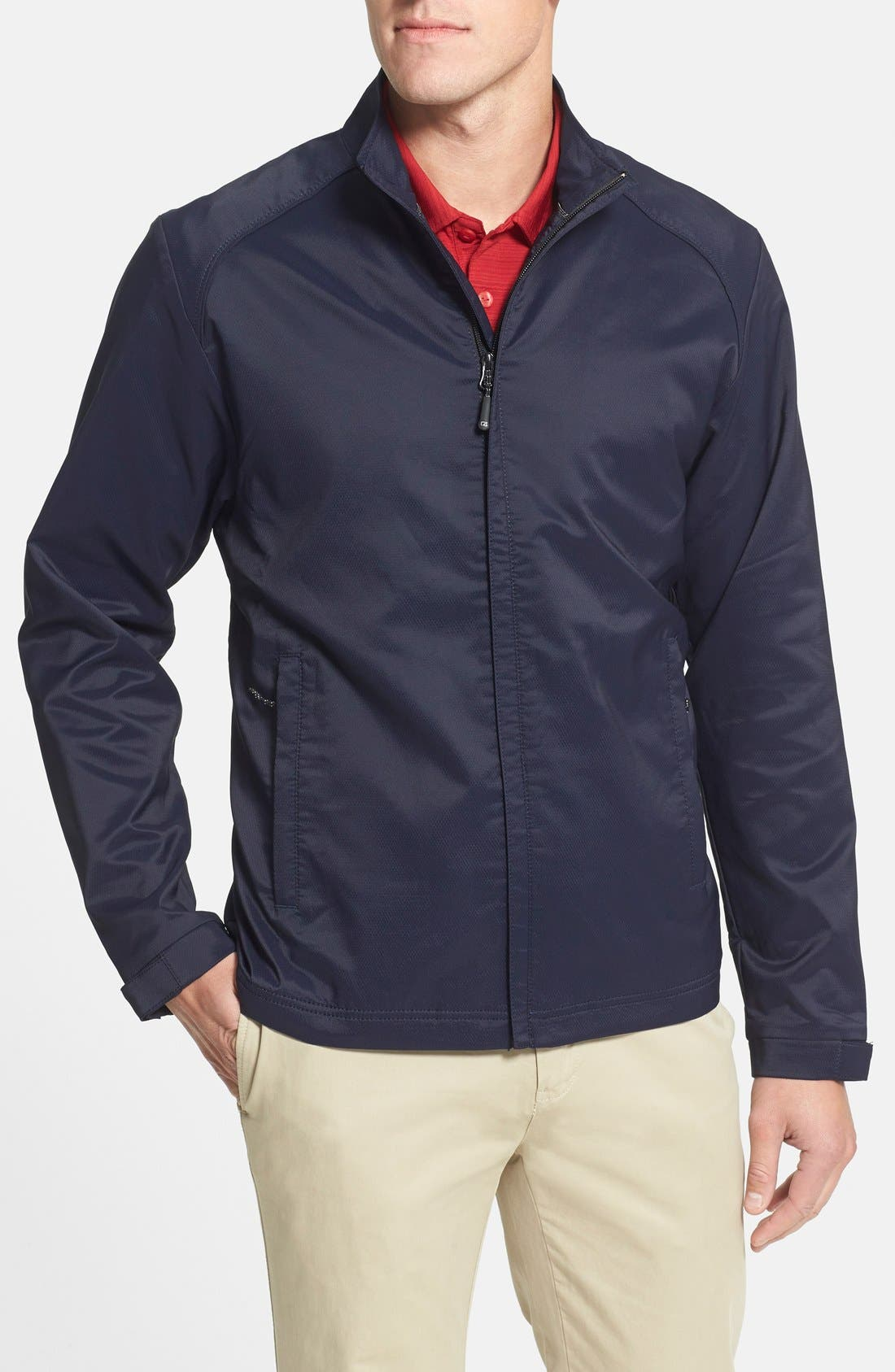 Alternate Image 1 Selected - Cutter & Buck 'Blakely' WeatherTec® Wind & Water Resistant Full Zip Jacket
