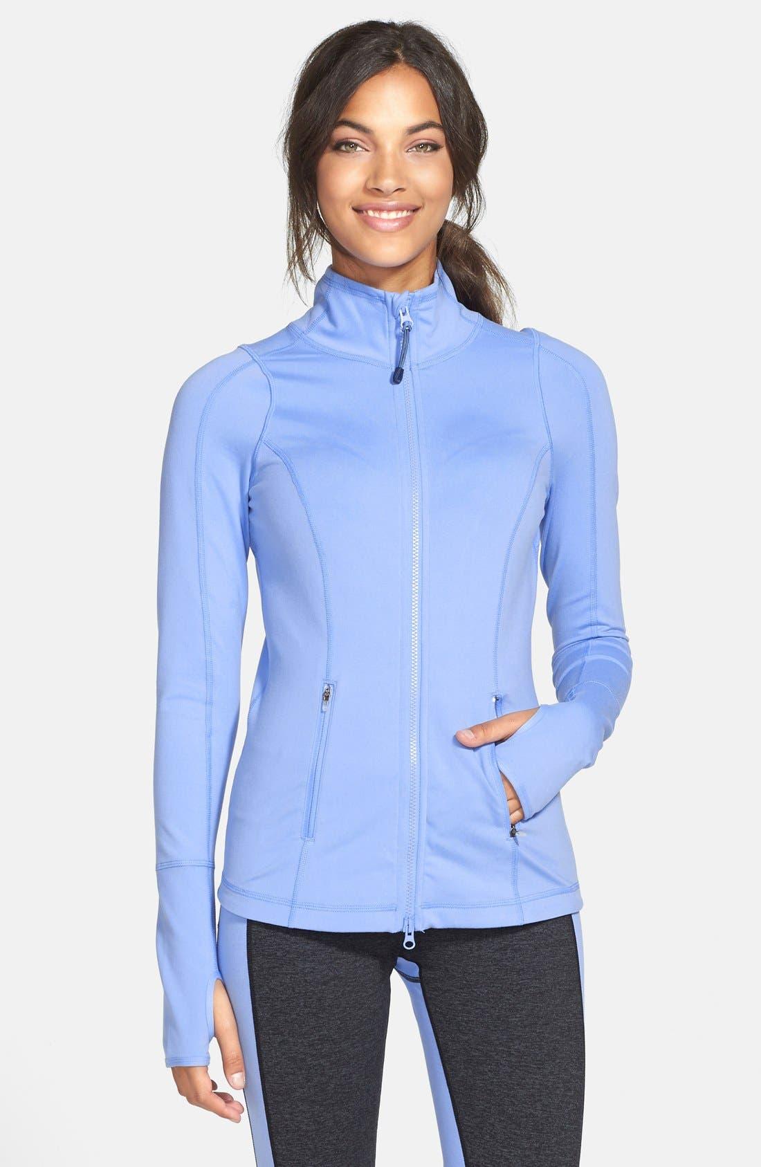 'Deja' Jacket,                         Main,                         color, Blue Dusk