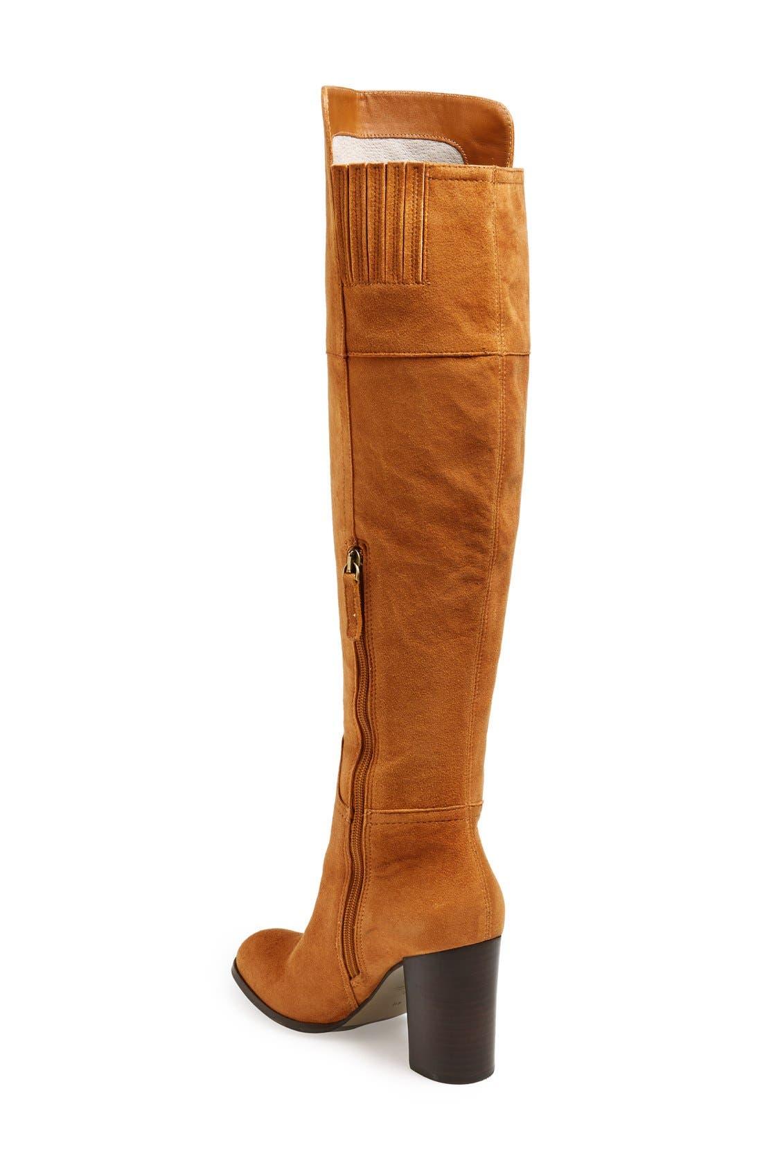 Alternate Image 3  - Pour la Victoire 'Talia' Suede Tall Boot (Women)