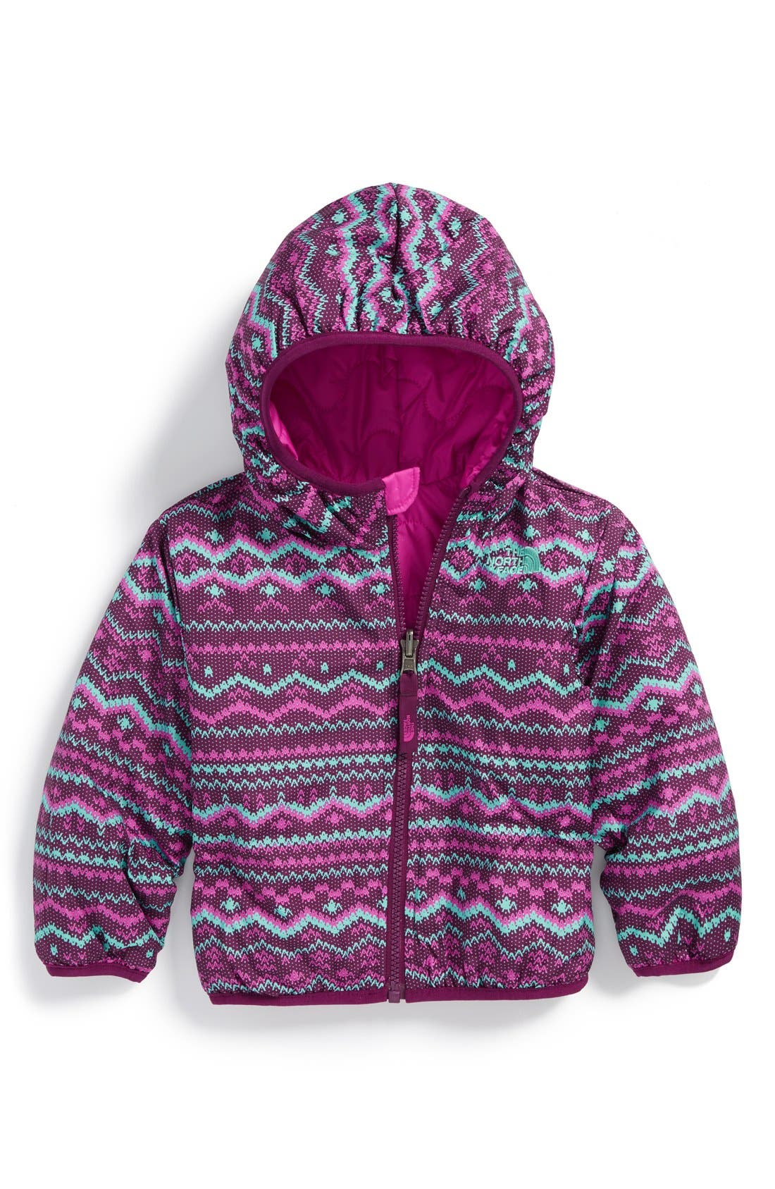 Alternate Image 1 Selected - The North Face 'Perrito' Reversible Jacket (Baby Girls)
