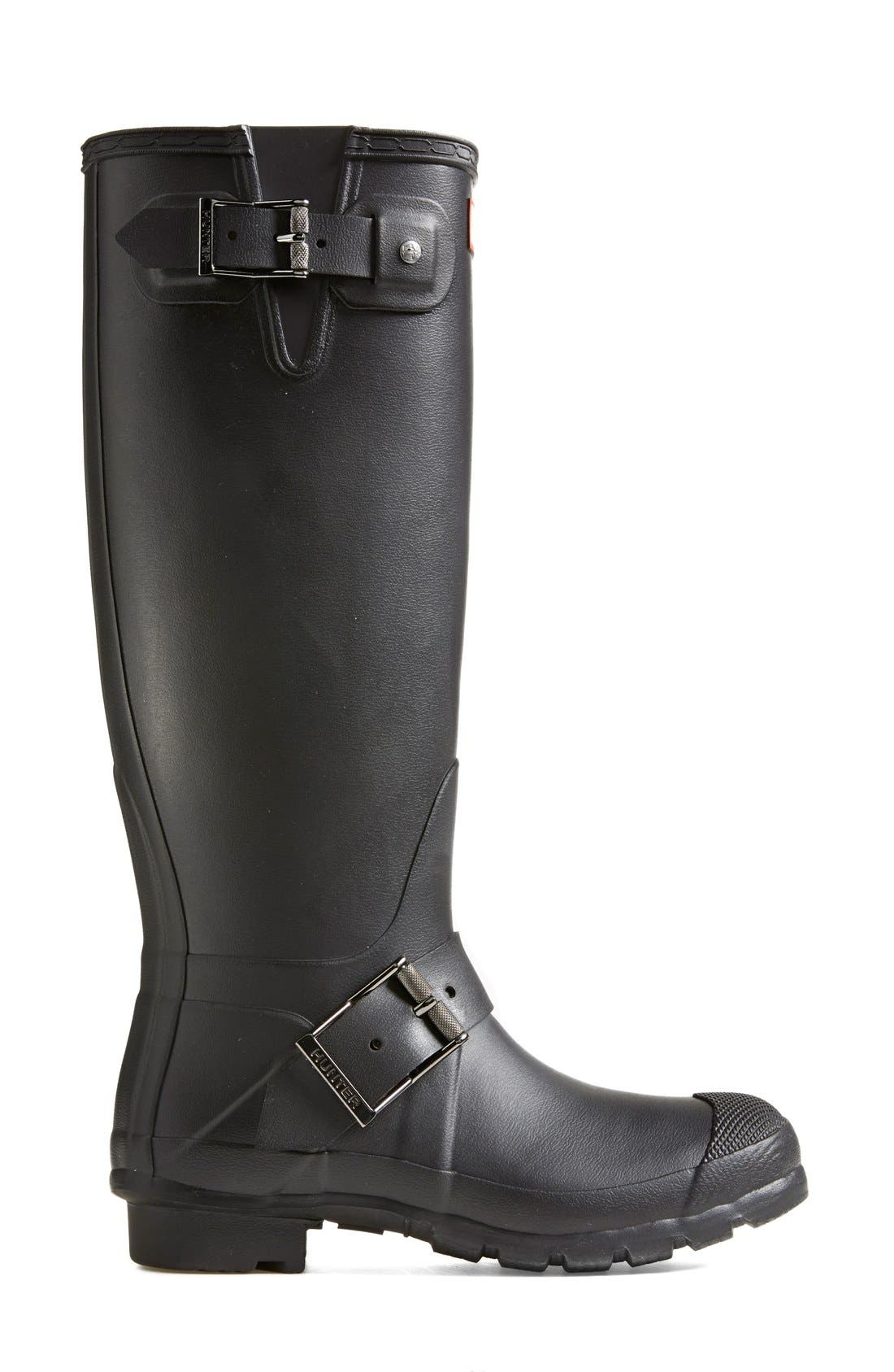 Alternate Image 6  - Hunter 'Tall Moto' Rain Boot (Nordstrom Exclusive) (Women)