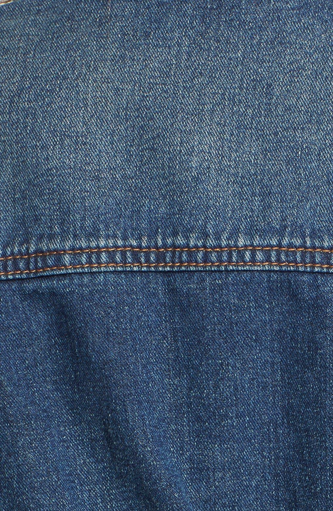 Alternate Image 3  - Free People Long Denim Jacket