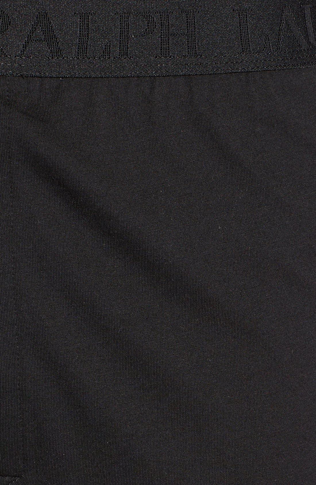 Supreme Comfort 2-Pack Boxers,                             Alternate thumbnail 3, color,                             Polo Black