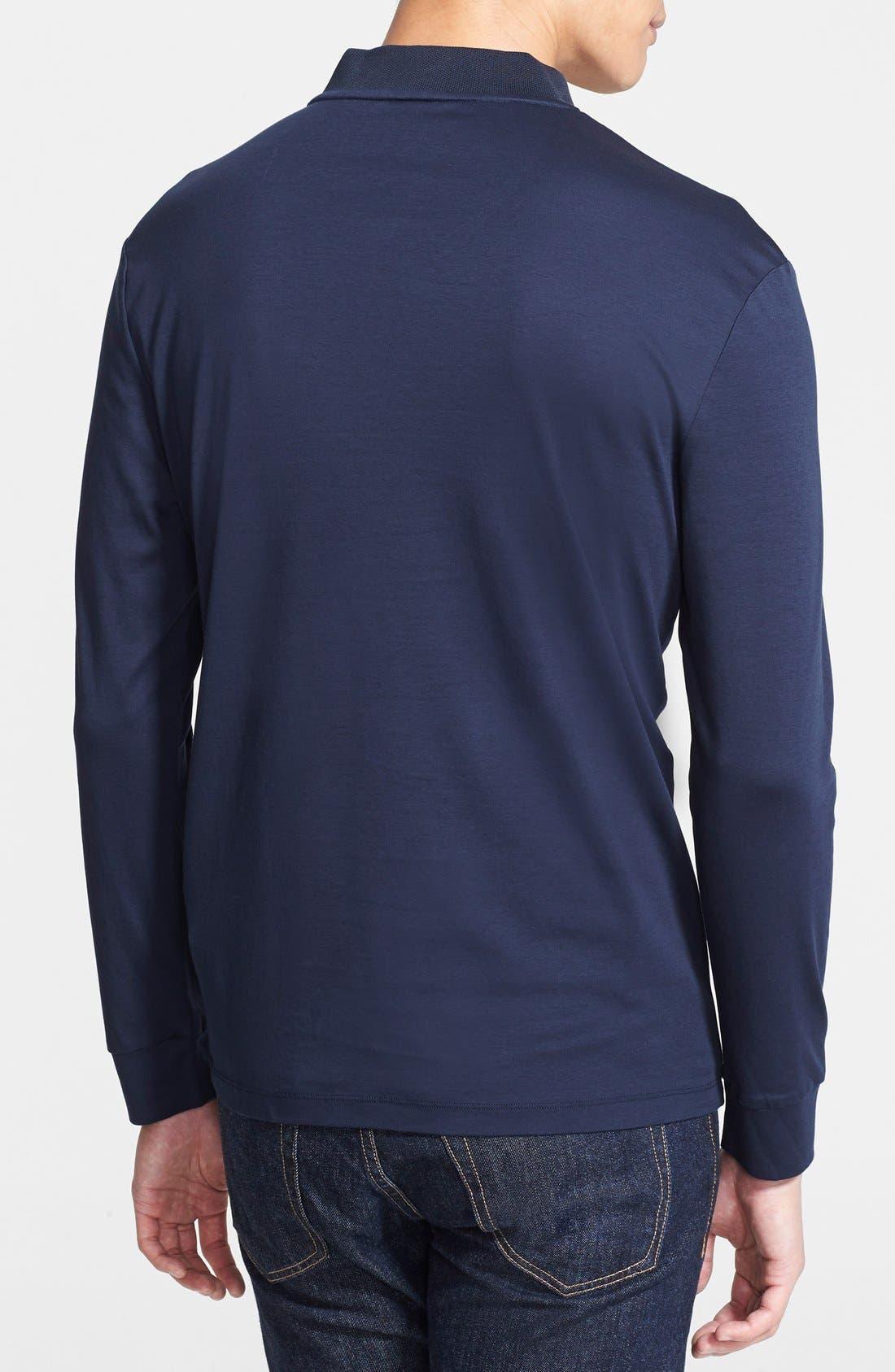 Alternate Image 2  - Armani Collezioni Cotton Jersey T-Shirt