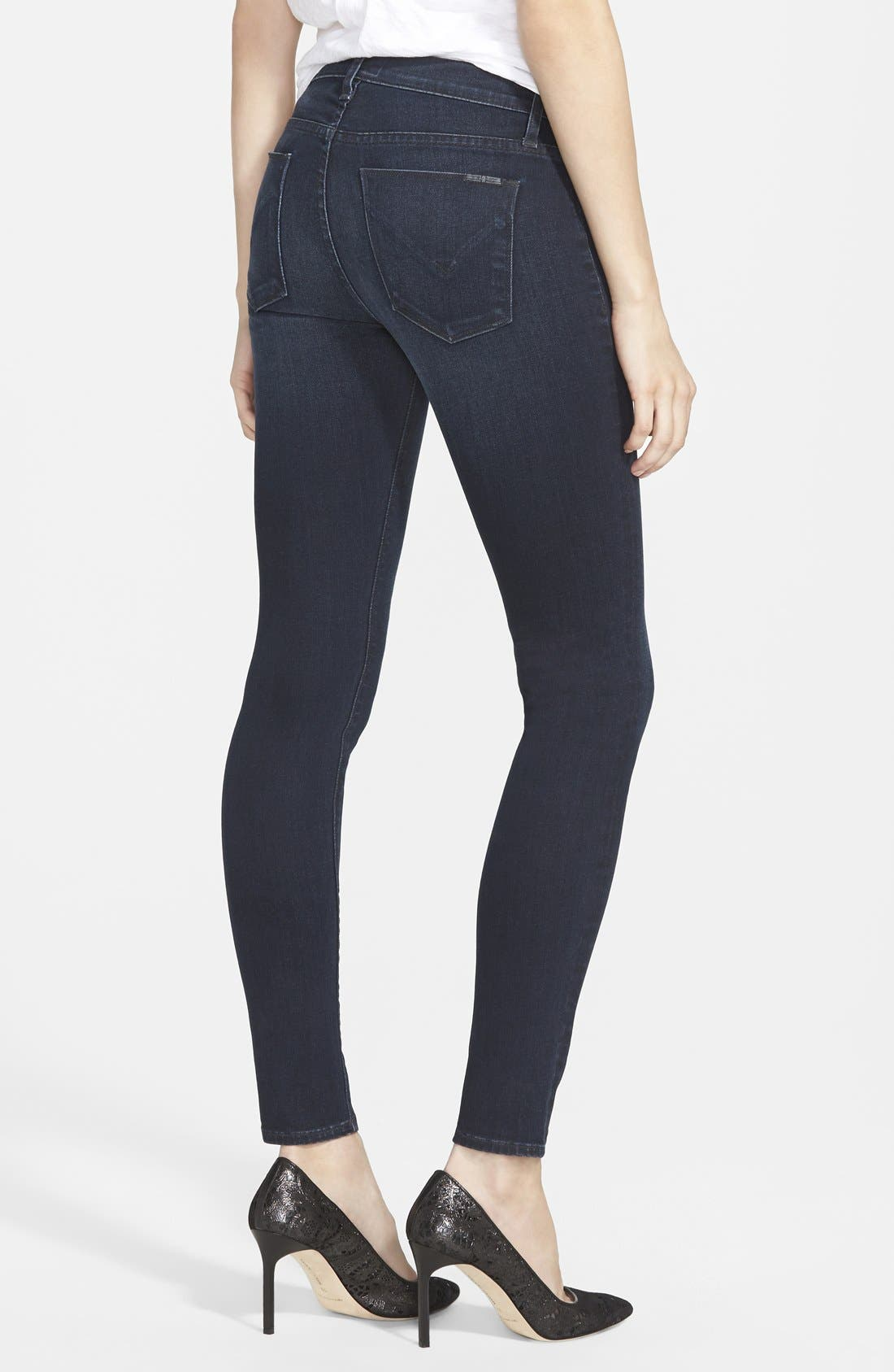 Alternate Image 2  - Hudson Jeans 'Nico' Skinny Jeans (Front And Center)
