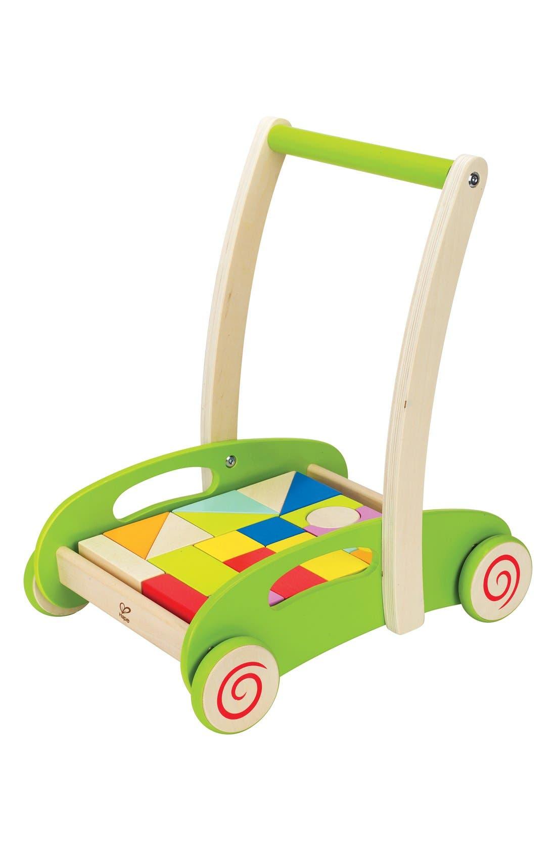'Block & Roll' Push Toy,                             Alternate thumbnail 4, color,                             Green