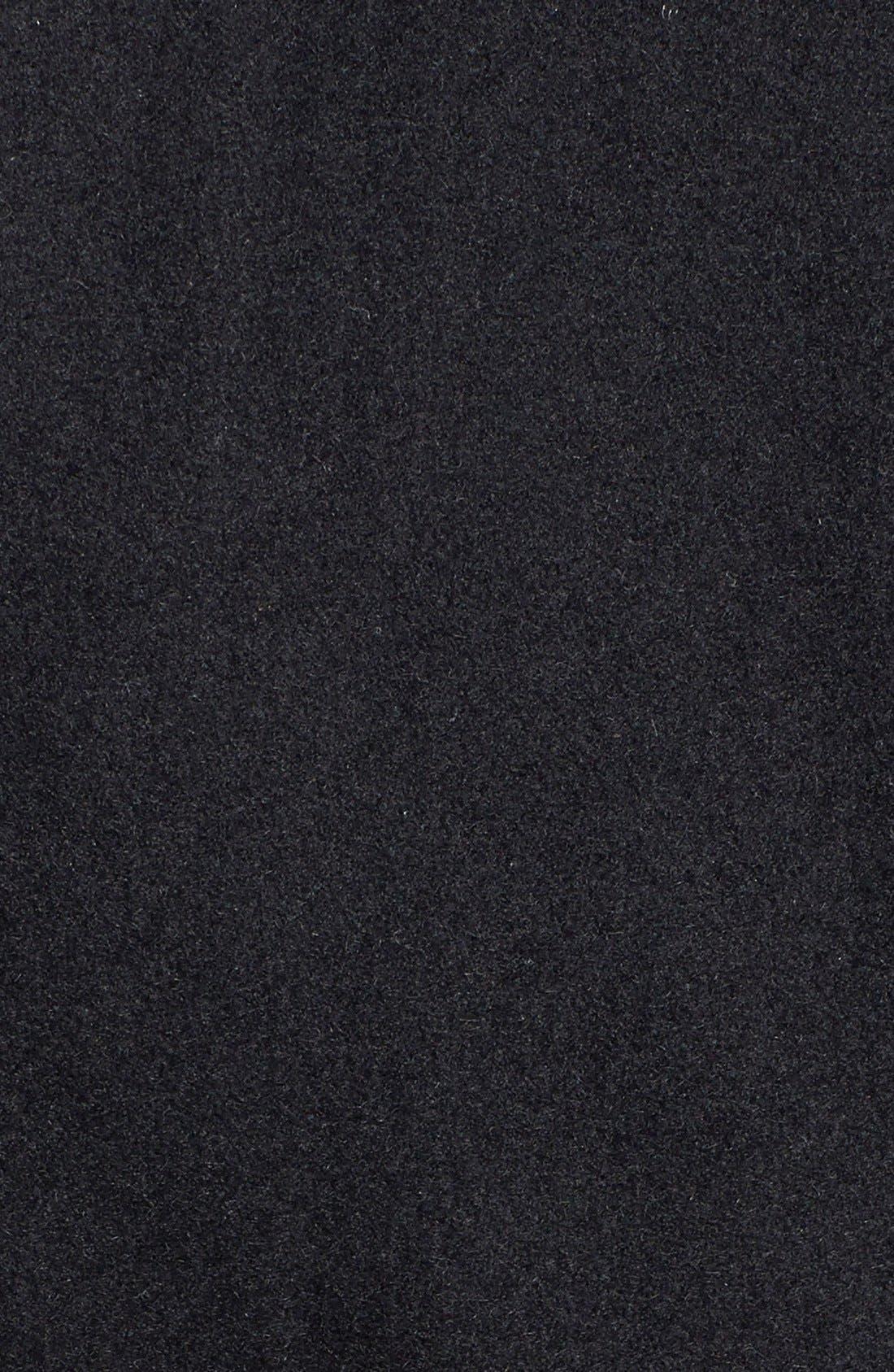 Alternate Image 3  - MICHAEL Michael Kors Belted Hooded Wool Blend Asymmetrical Coat (Online Only)