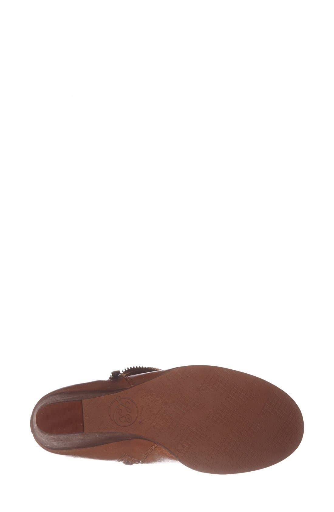 Alternate Image 4  - Lucky Brand 'Yorque' Wedge Leather Bootie (Women)