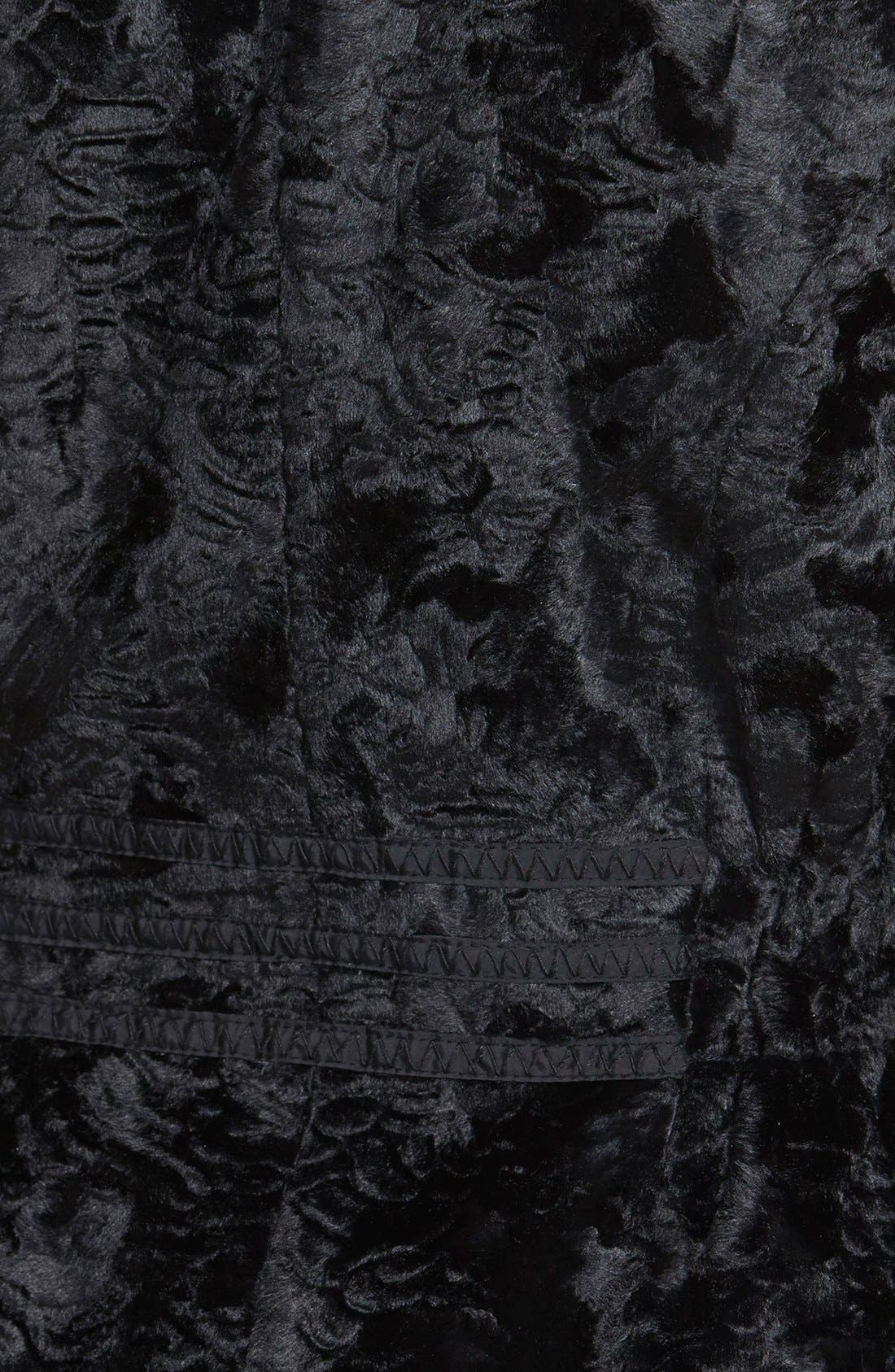 Alternate Image 4  - Laundry by Shelli Segal Reversible Faux Persian Lamb Fur Coat