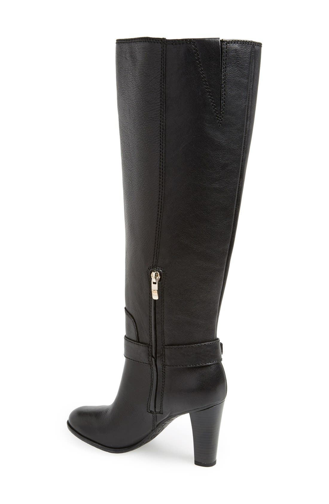 'Sumilo' Boot,                             Alternate thumbnail 2, color,                             Black Leather